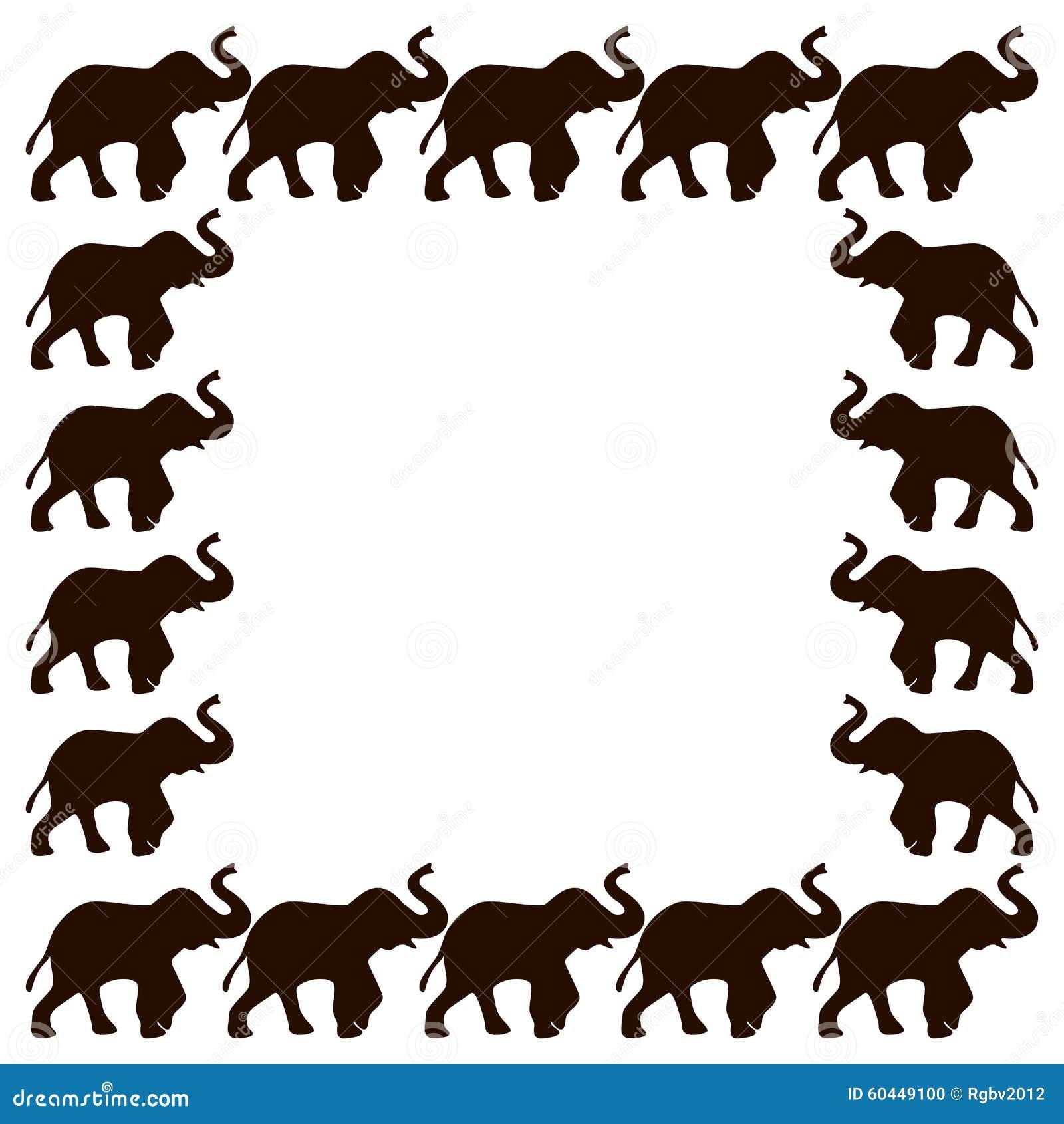 elephant frame - Elephant Picture Frame