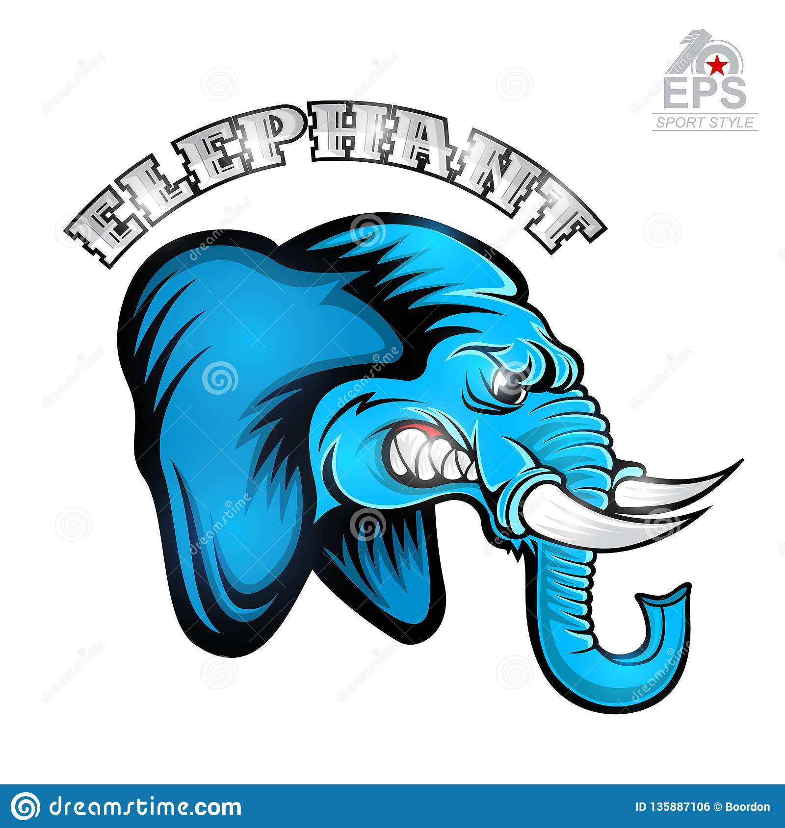 Side View Elephant Head Stock Illustrations – 89 Side View ...
