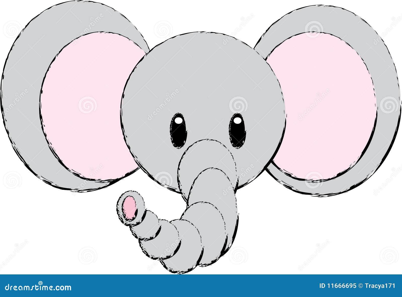 Photos  IllustrationsVintage Elephant Illustration