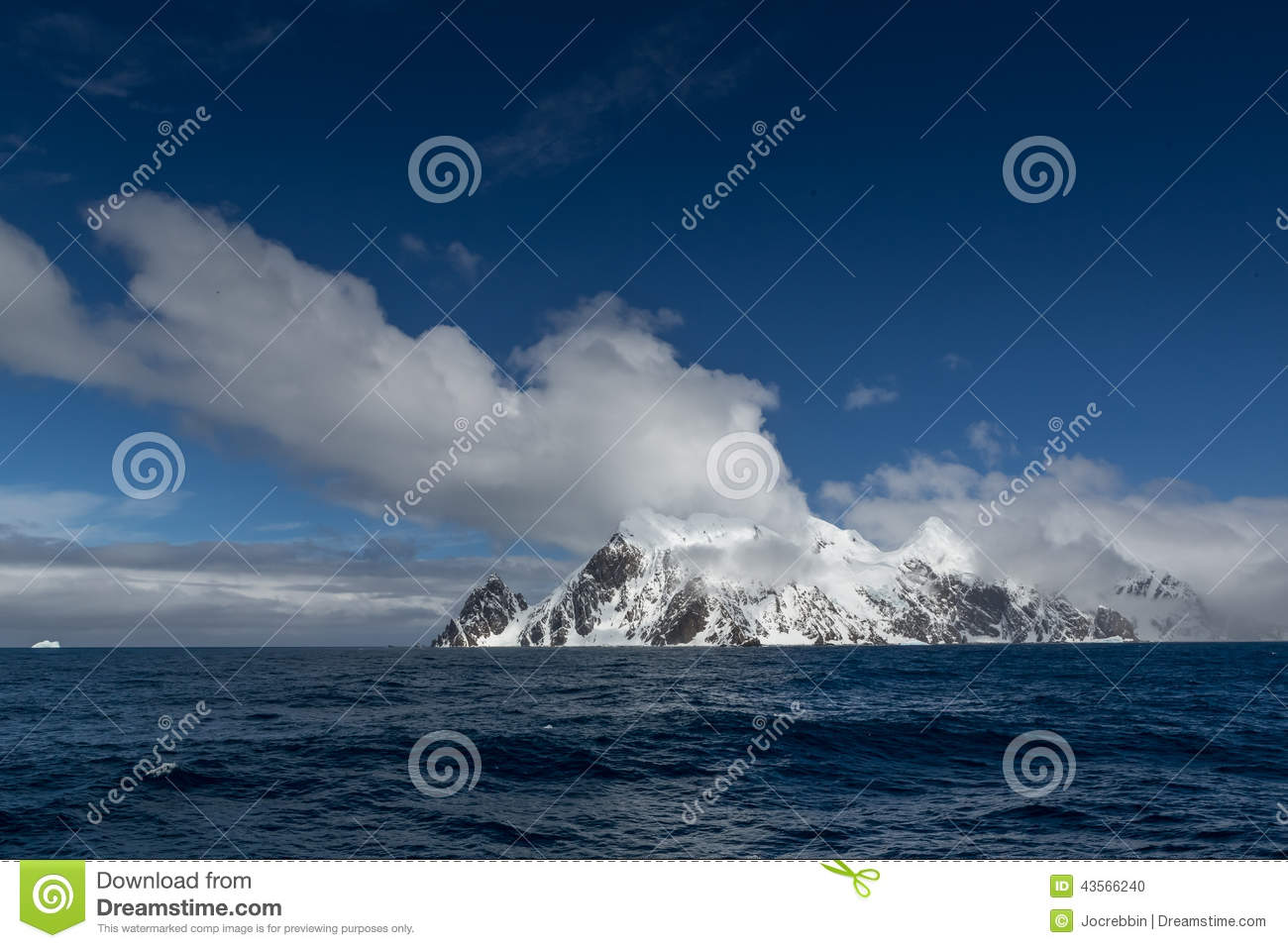 Elephant Island (South Shetland Islands) in the Southern Ocean. With Point Wild, location of Sir Ernest Shackleton amazing