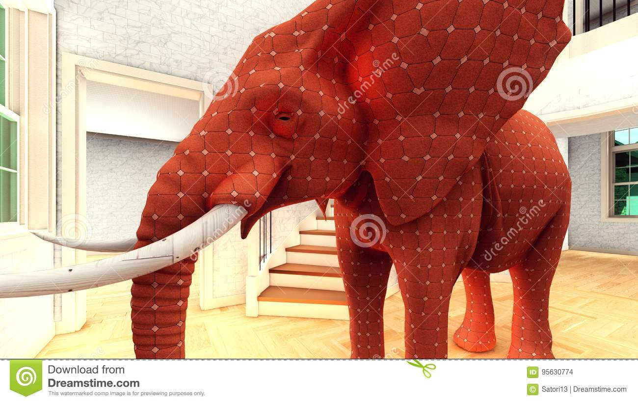 elephant in the living room - The Elephant In The Living Room