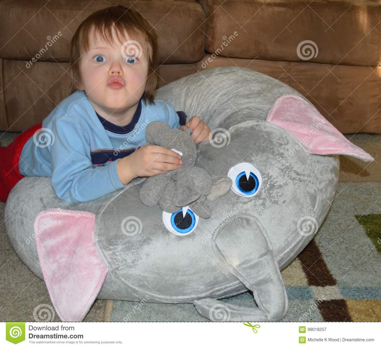 Trumpeting Elephant Toddler