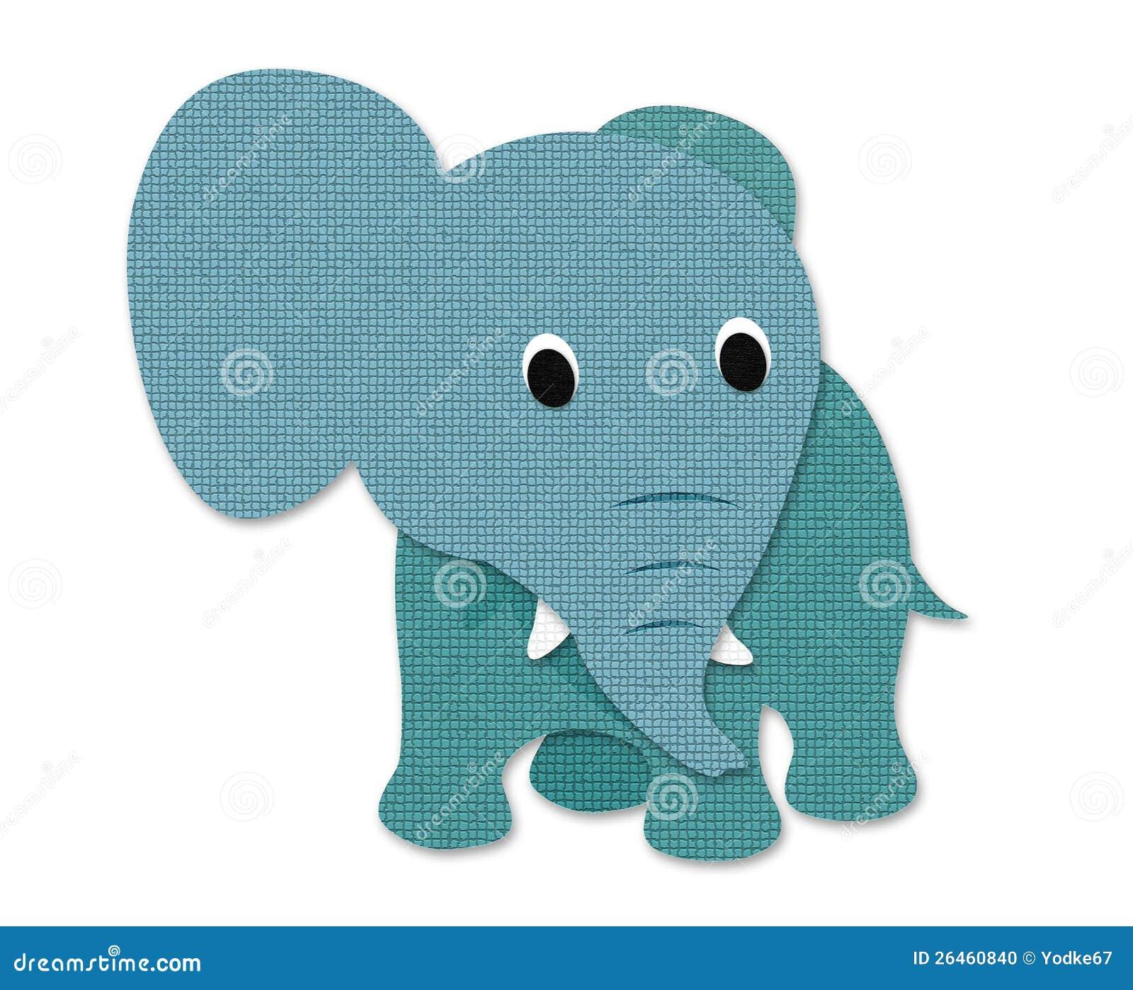Paper Mache Elephant Mask
