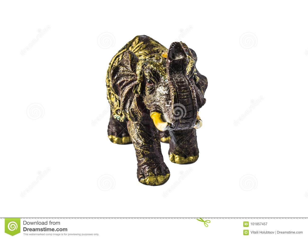 Elephant A Symbol Of Good Luck Feng Shui Stock Image Image Of
