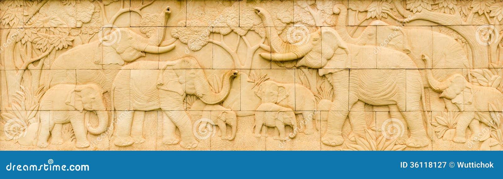 Elephant Thai sandstone