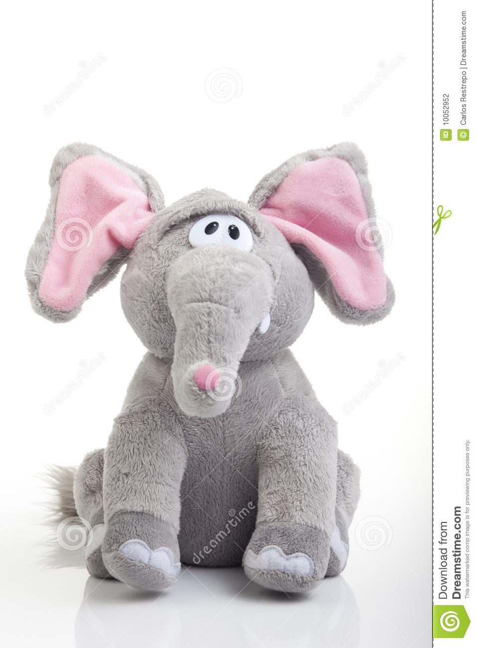Toys For Elephant : Elephant toy stock photography image