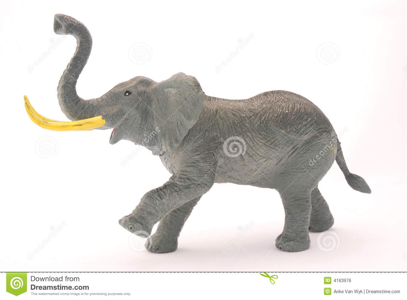 plastic toy elephant stock photo cartoondealercom 54203214