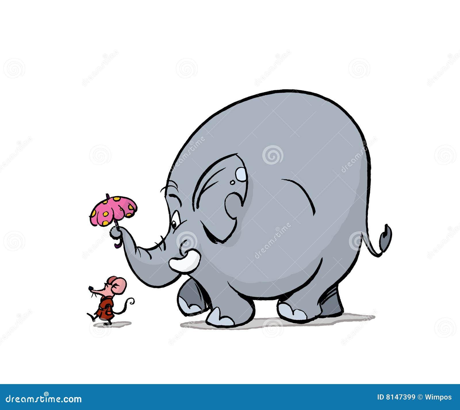 Elephant Walk Royalty Free Stock Images - Image: 8147399