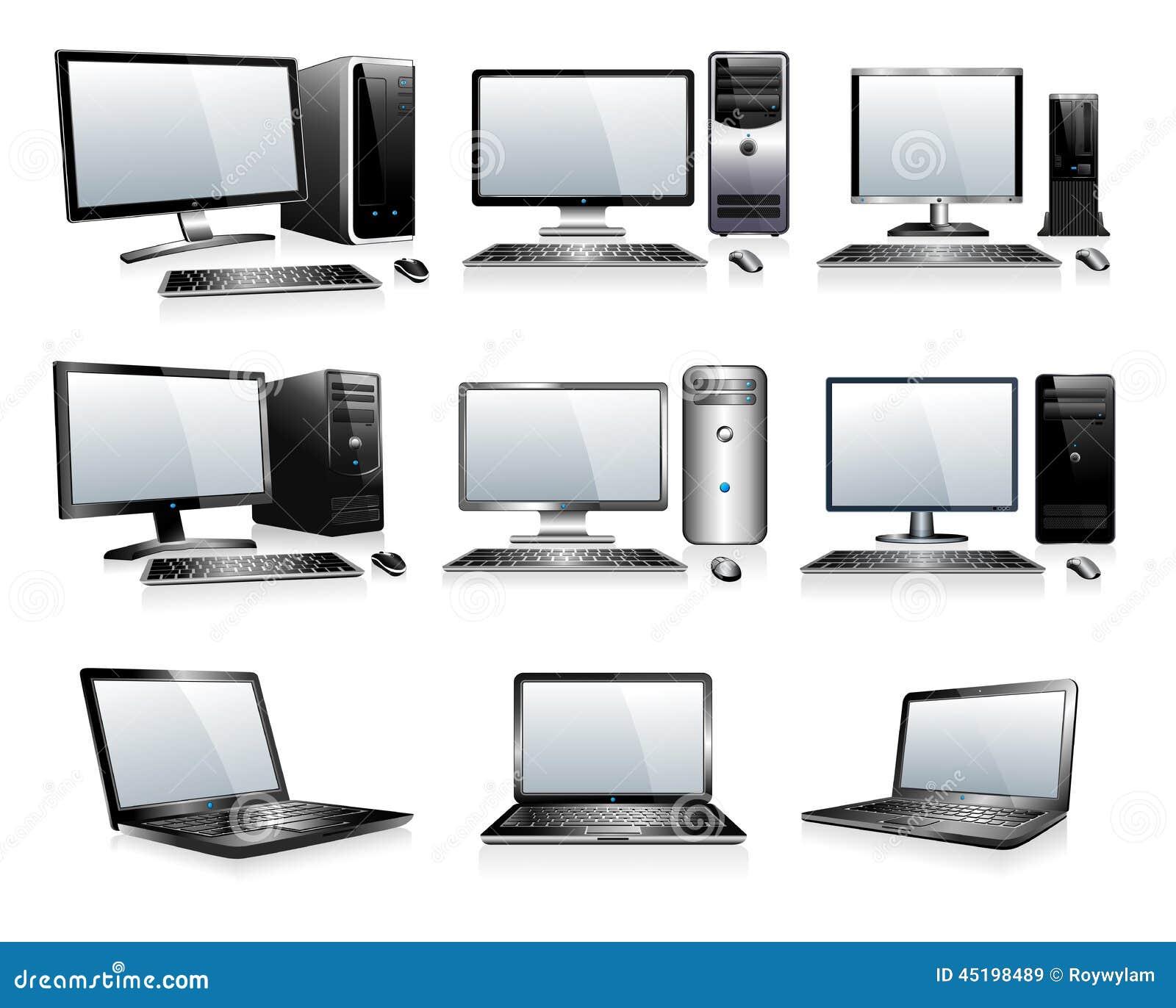 Eletrônica da informática - computadores, Desktops, PC