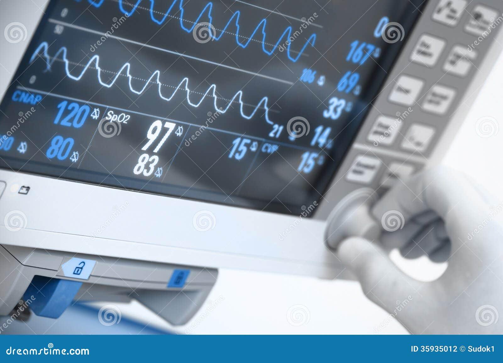 Eletrônica médica.