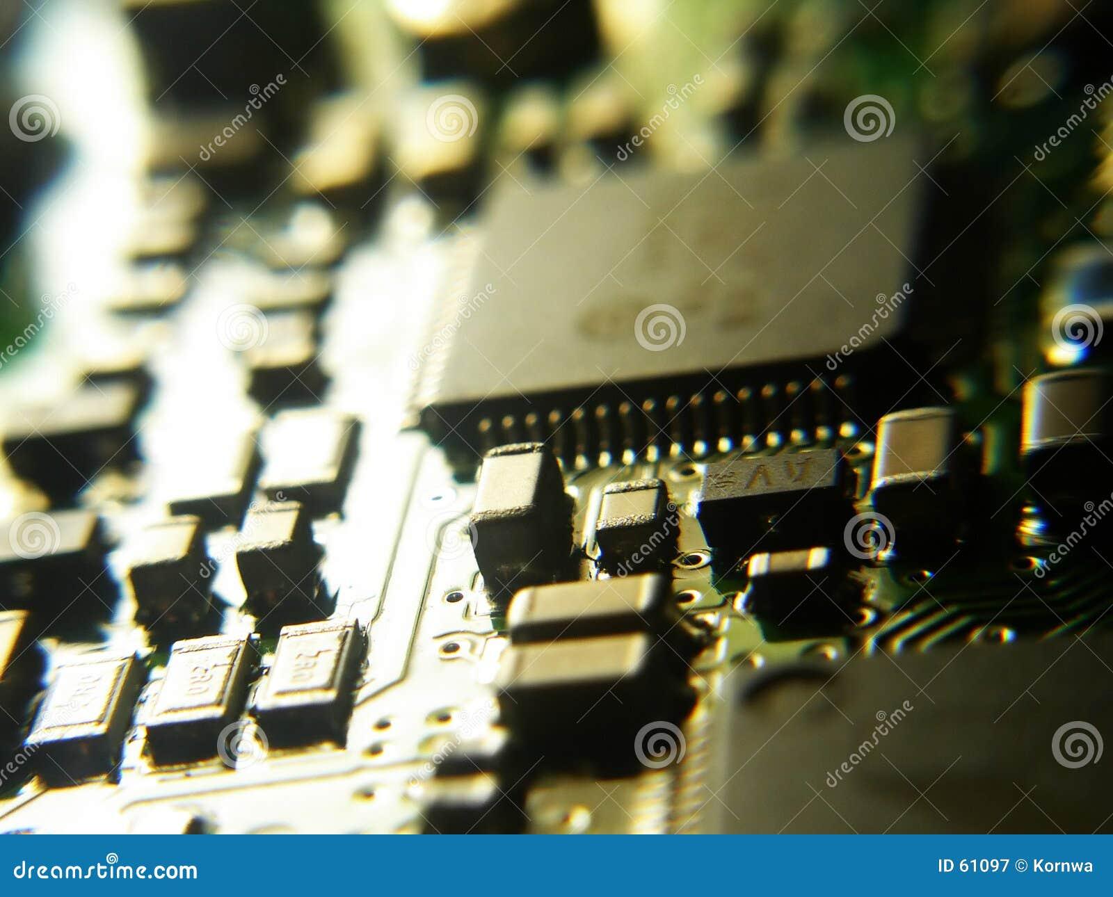 Download Elettronica immagine stock. Immagine di tecnologia, commerciale - 61097