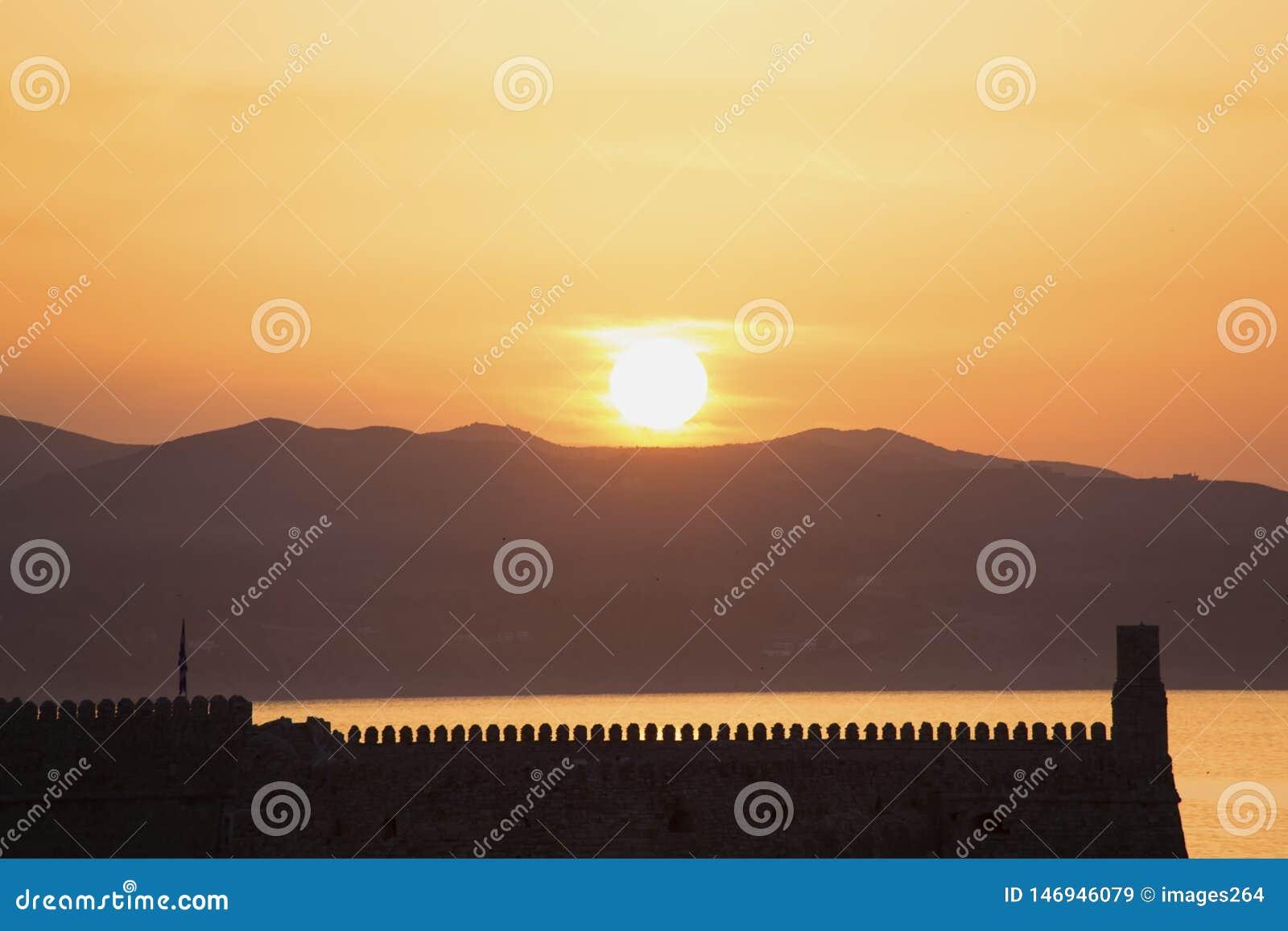 Eleva??o de Sun na Creta