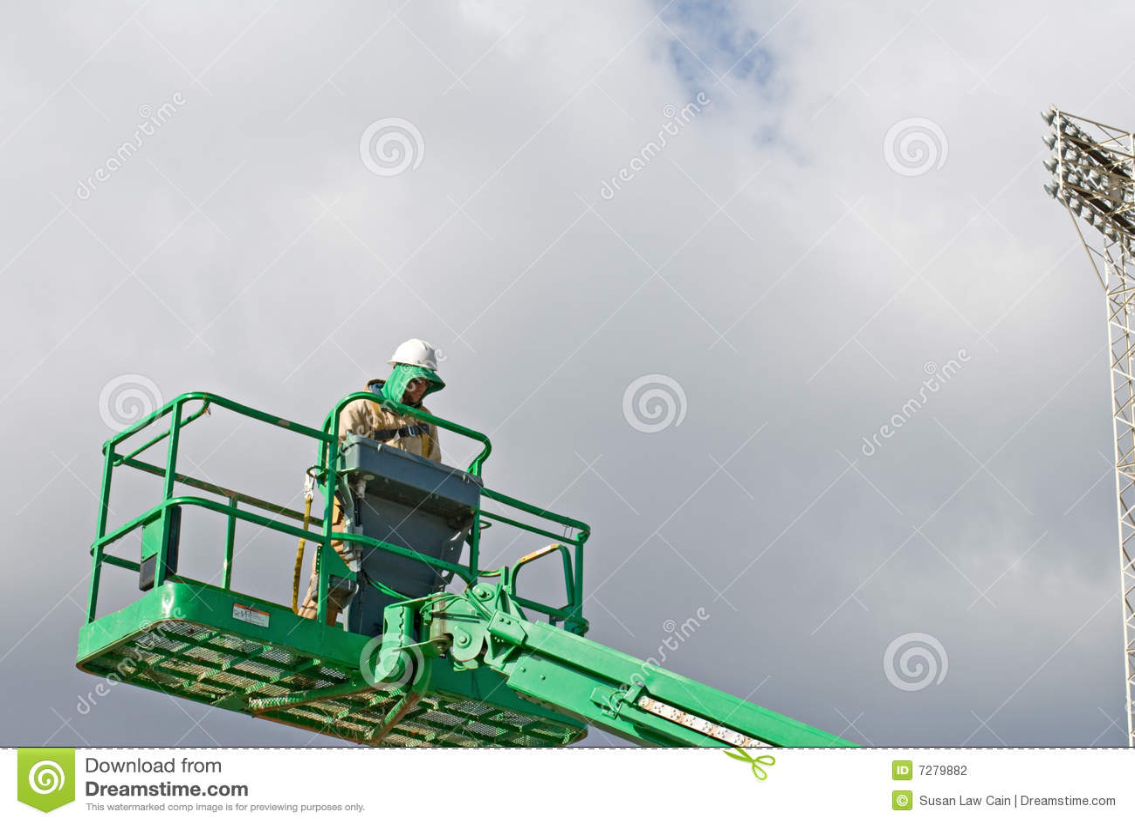 Elevación del funcionamiento del trabajador
