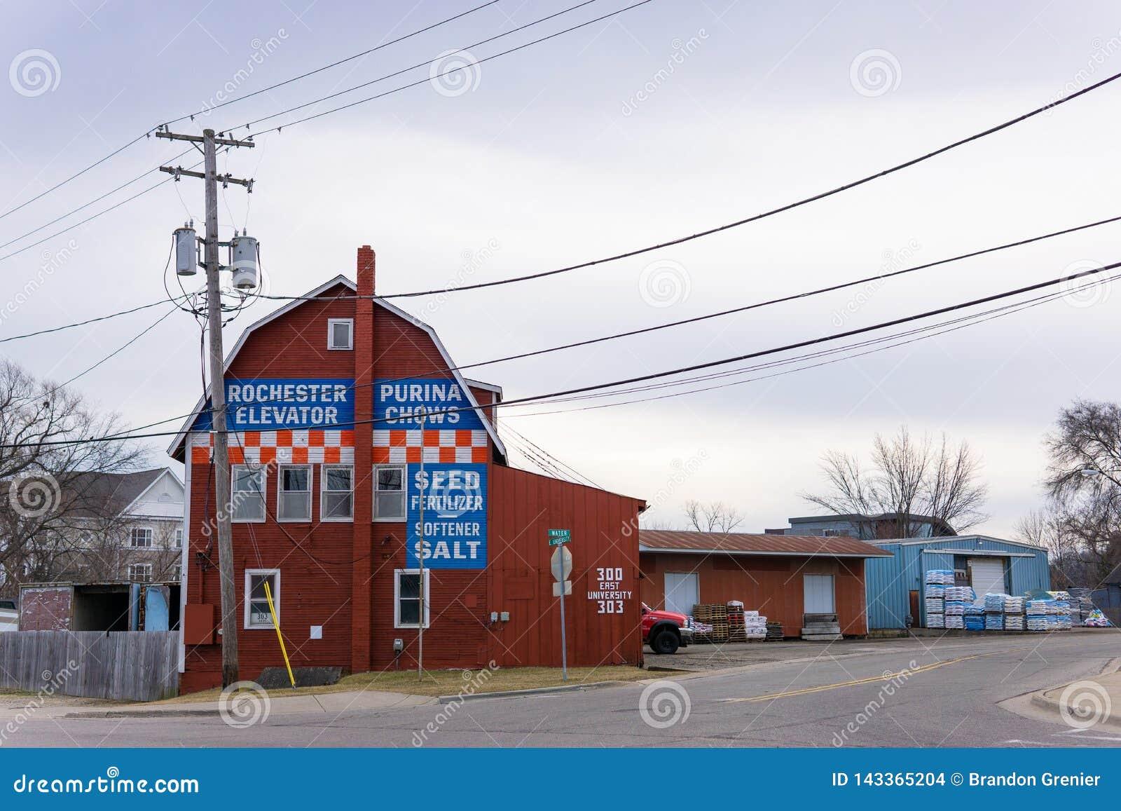 Elevador de grano de Rochester