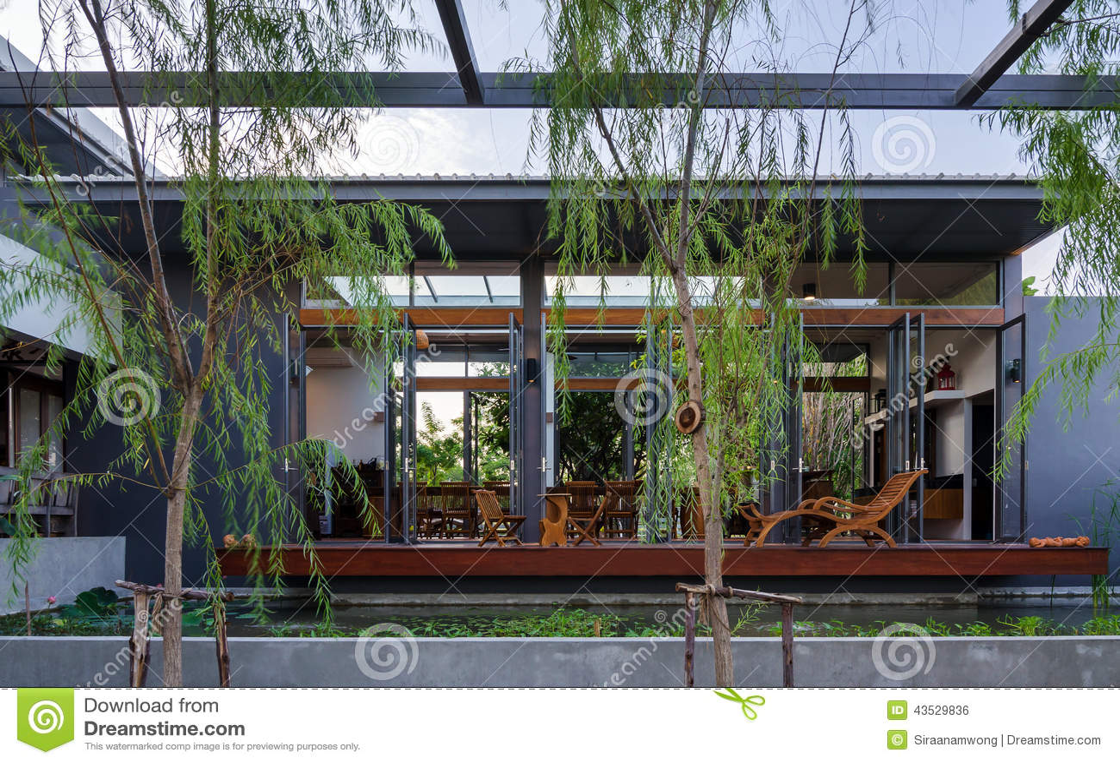 House modern nature