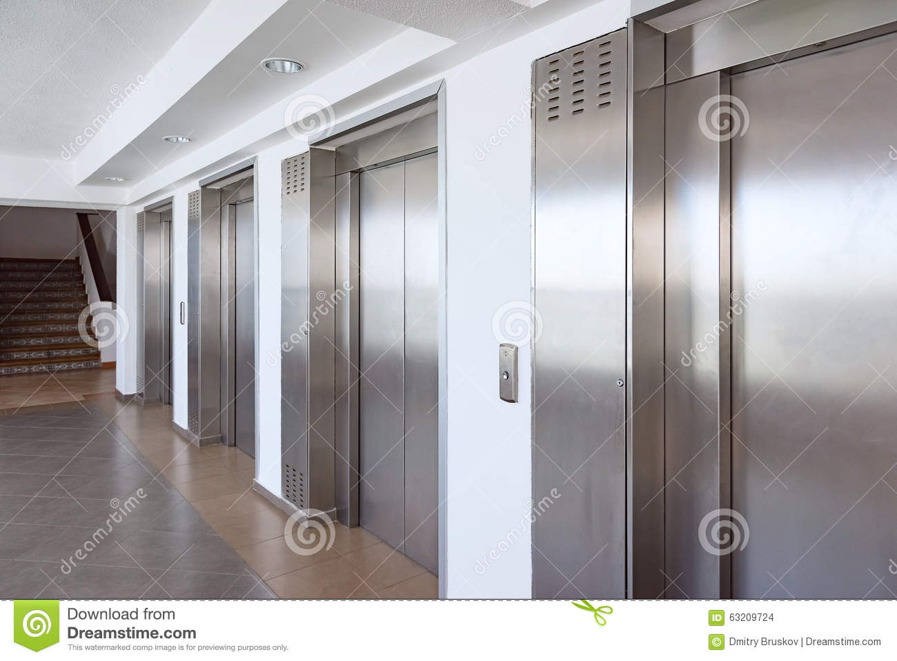 Elevator cabin stainless steel stock photo image 63209724 Elevator cabin design