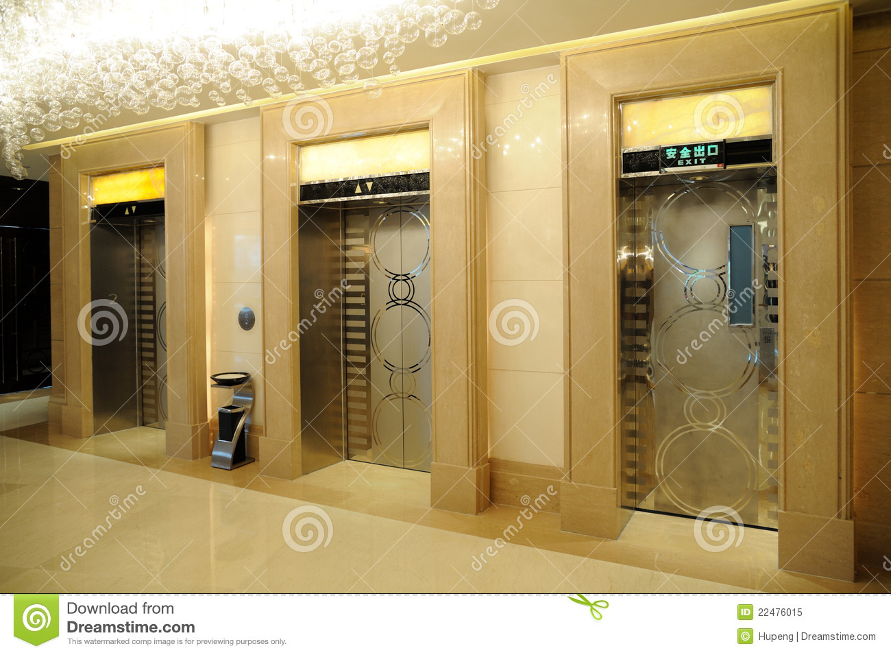 Elevator Entrance Royalty Free Stock Photo Image 22476015