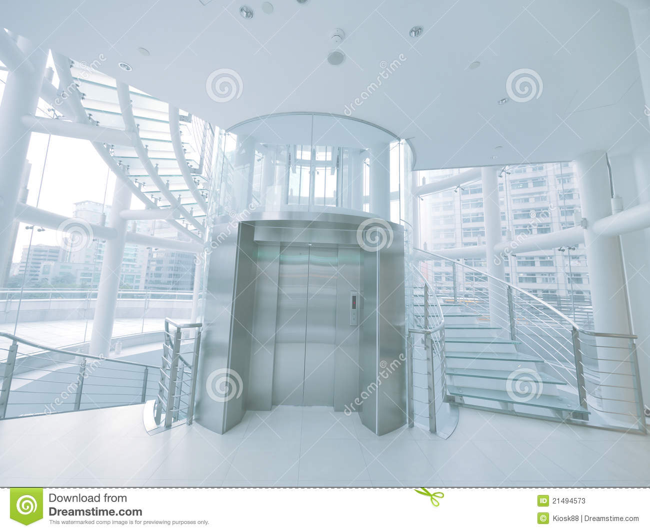 Elevator And Staircase Stock Photos Image 21494573