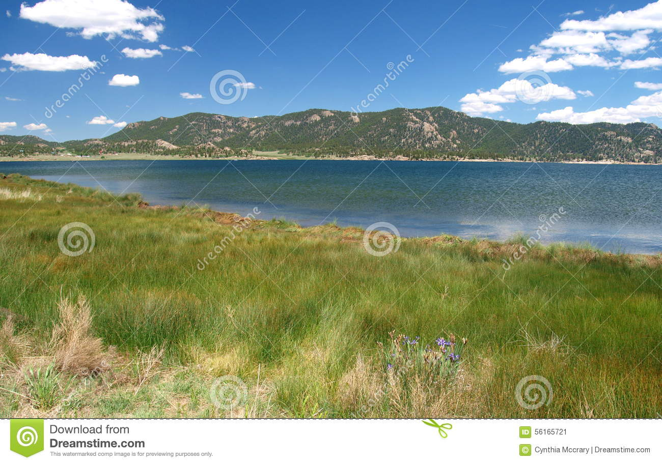 Eleven Mile Reservoir Stock Image Image Of Water