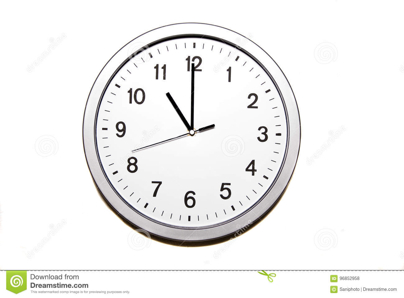 Download Eleven o`clock stock photo. Image of symbol, isolated - 96852958