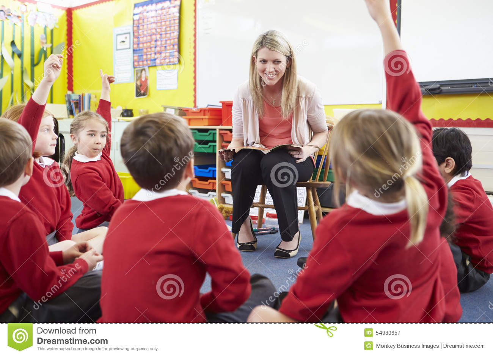 Elever för lärareReading Story To grundskola