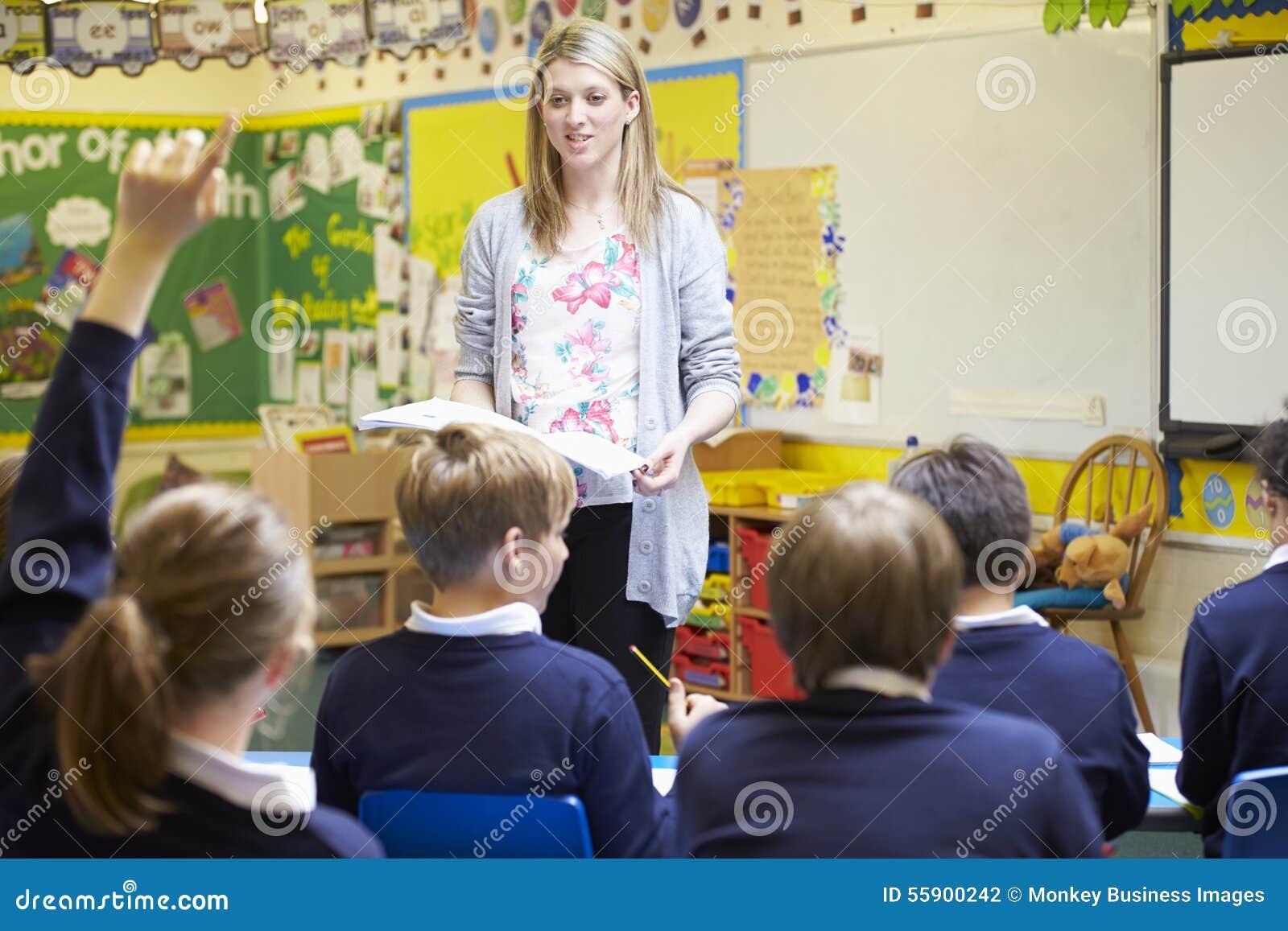 Elever för lärareTeaching Lesson To grundskola