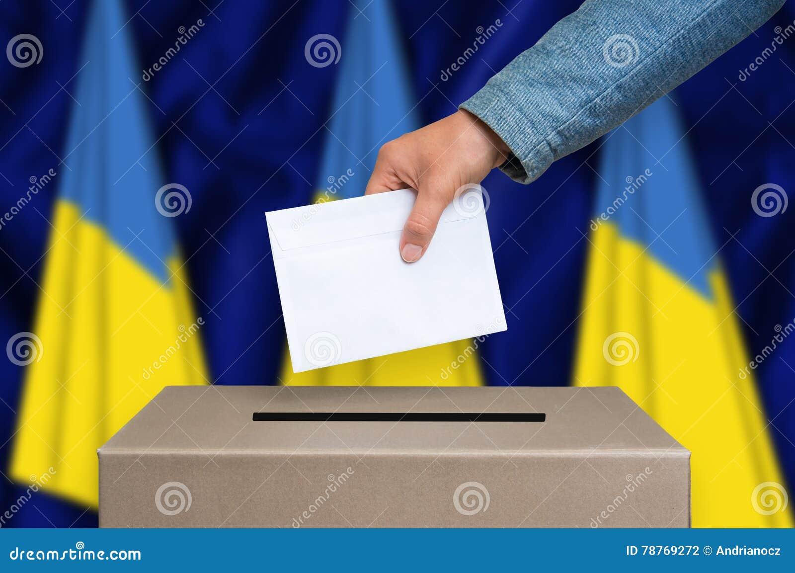 Elezione in Ucraina - votando all urna