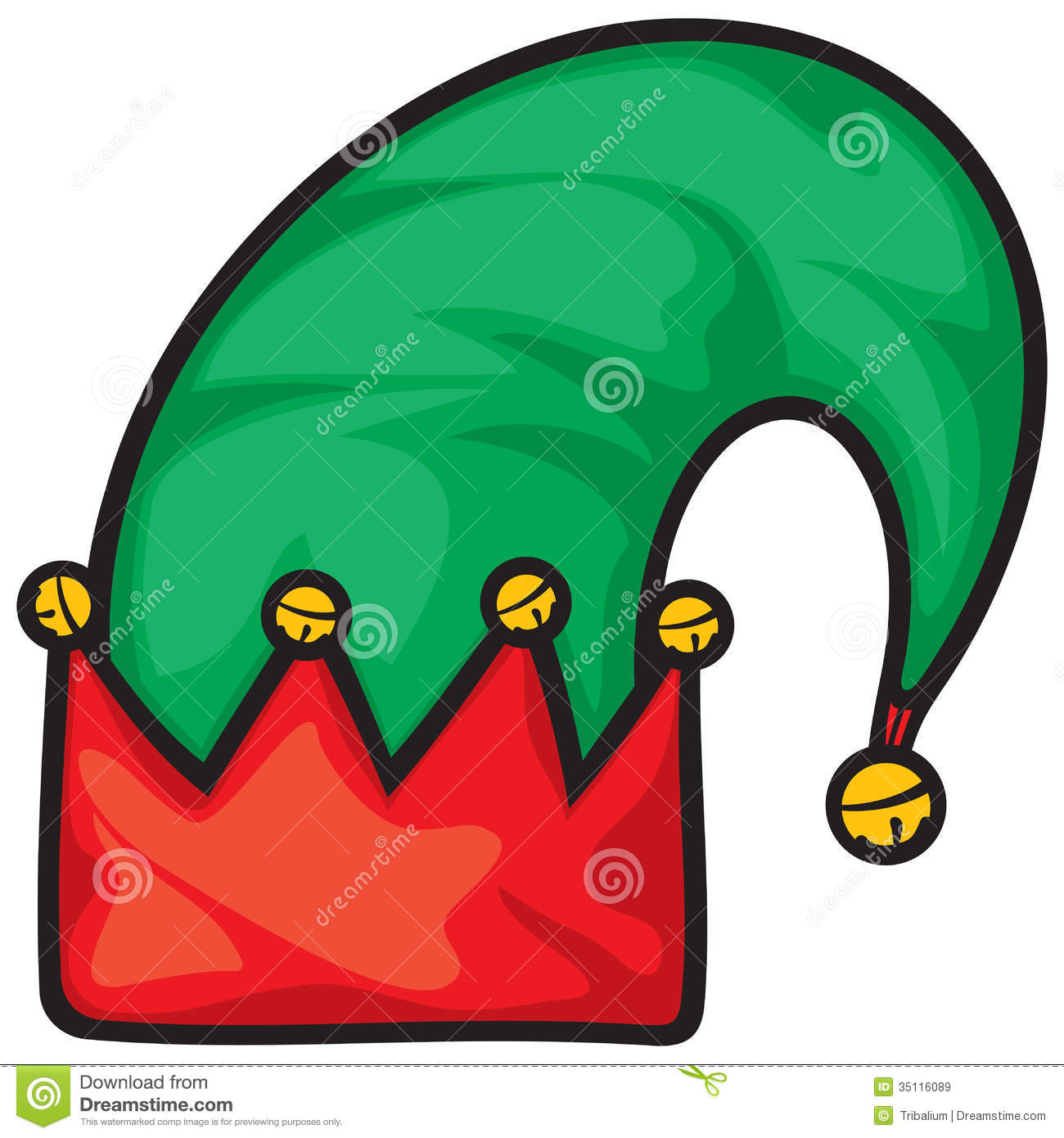 Elf Hat Royalty Free Stock Images - Image: 35116089