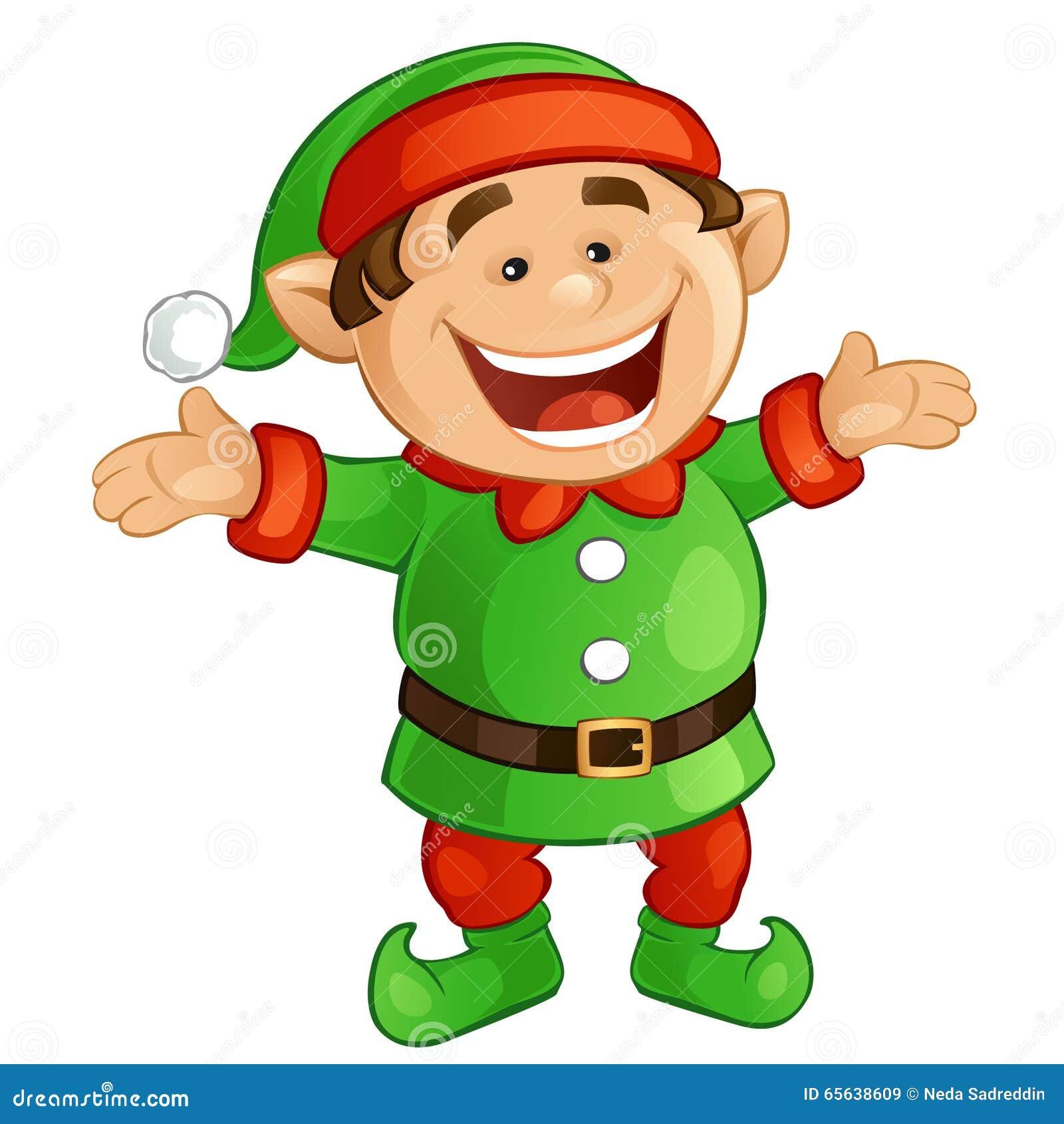 happy elf clipart - photo #30