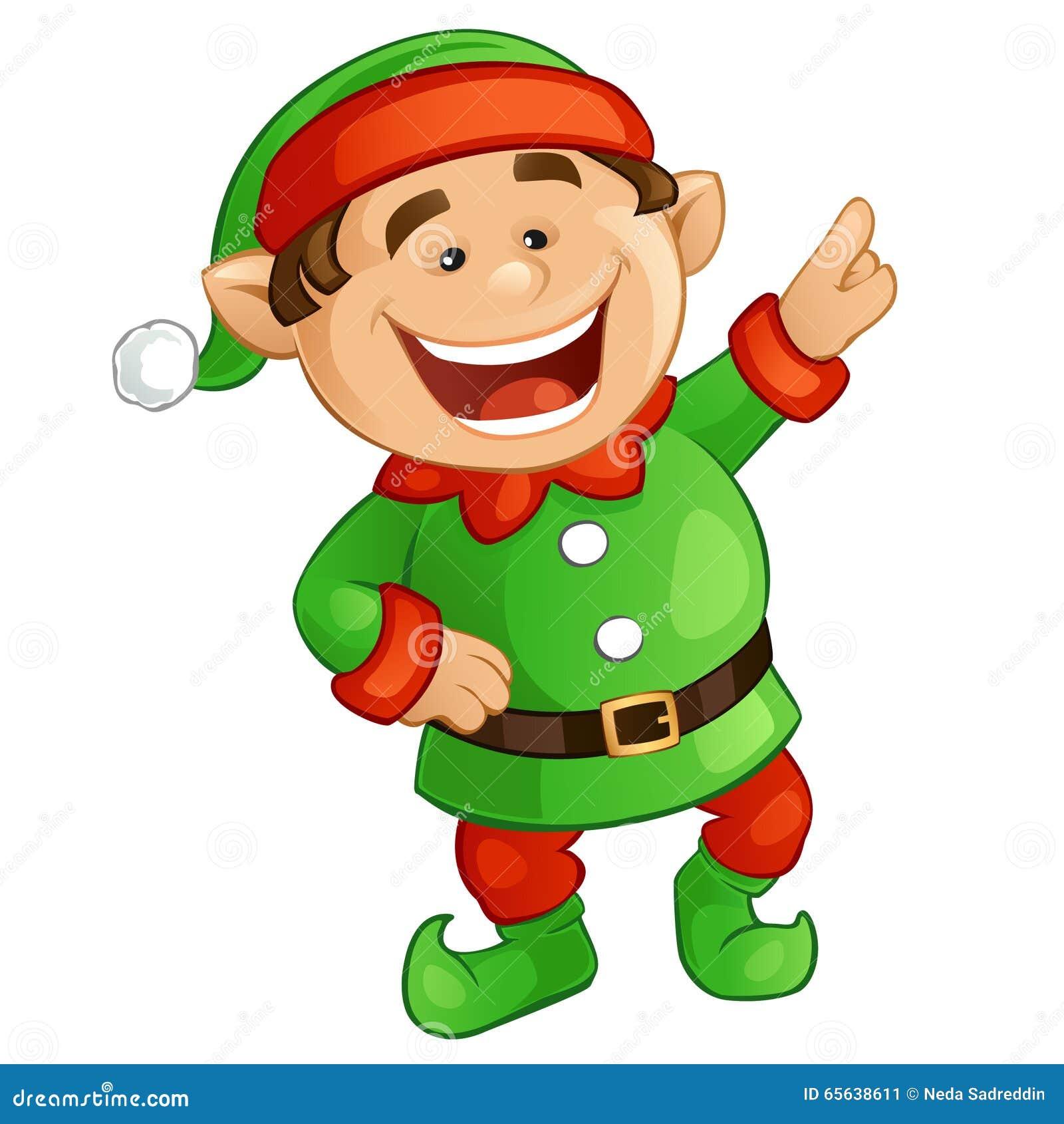 happy elf clipart - photo #3