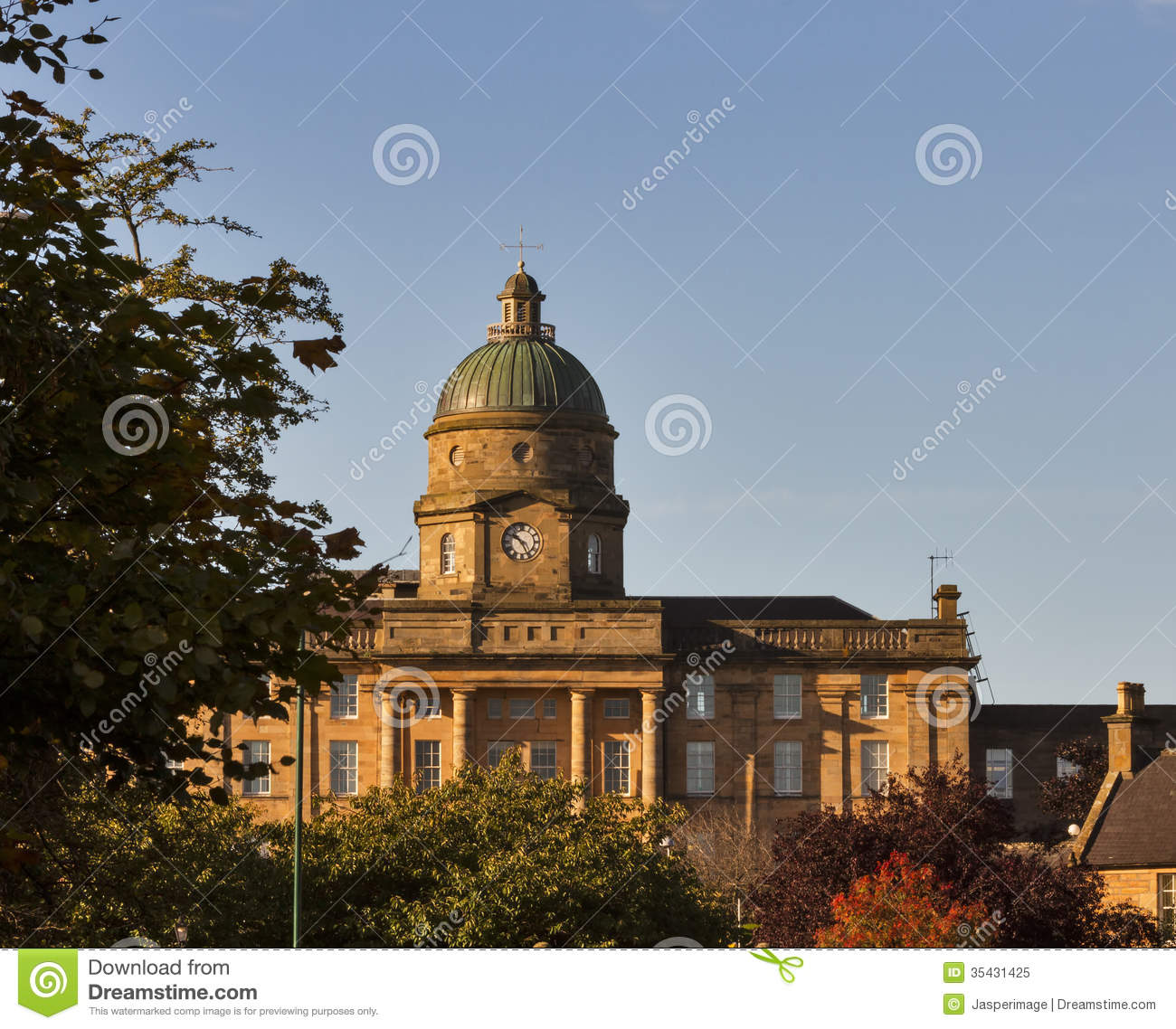 Elgin United Kingdom  city images : ... in Elgin, Moray, Scotland, United Kingdom in the morning sun, autumn