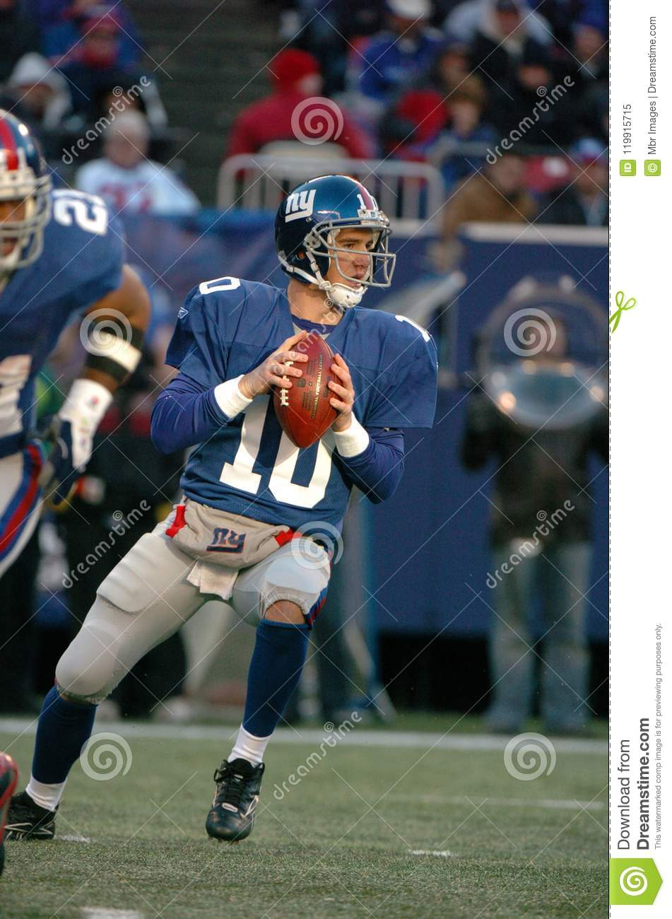 Eli Manning New York Giants Editorial Image - Image of