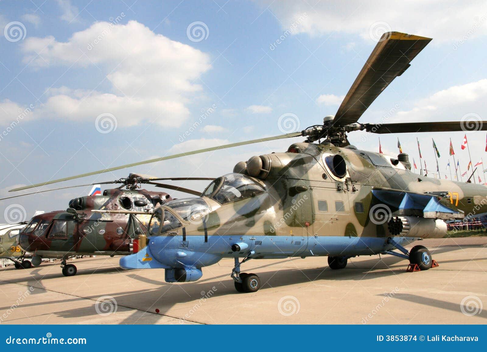 Elicottero Russo : Elicotteri militari fotografia stock immagine di forza