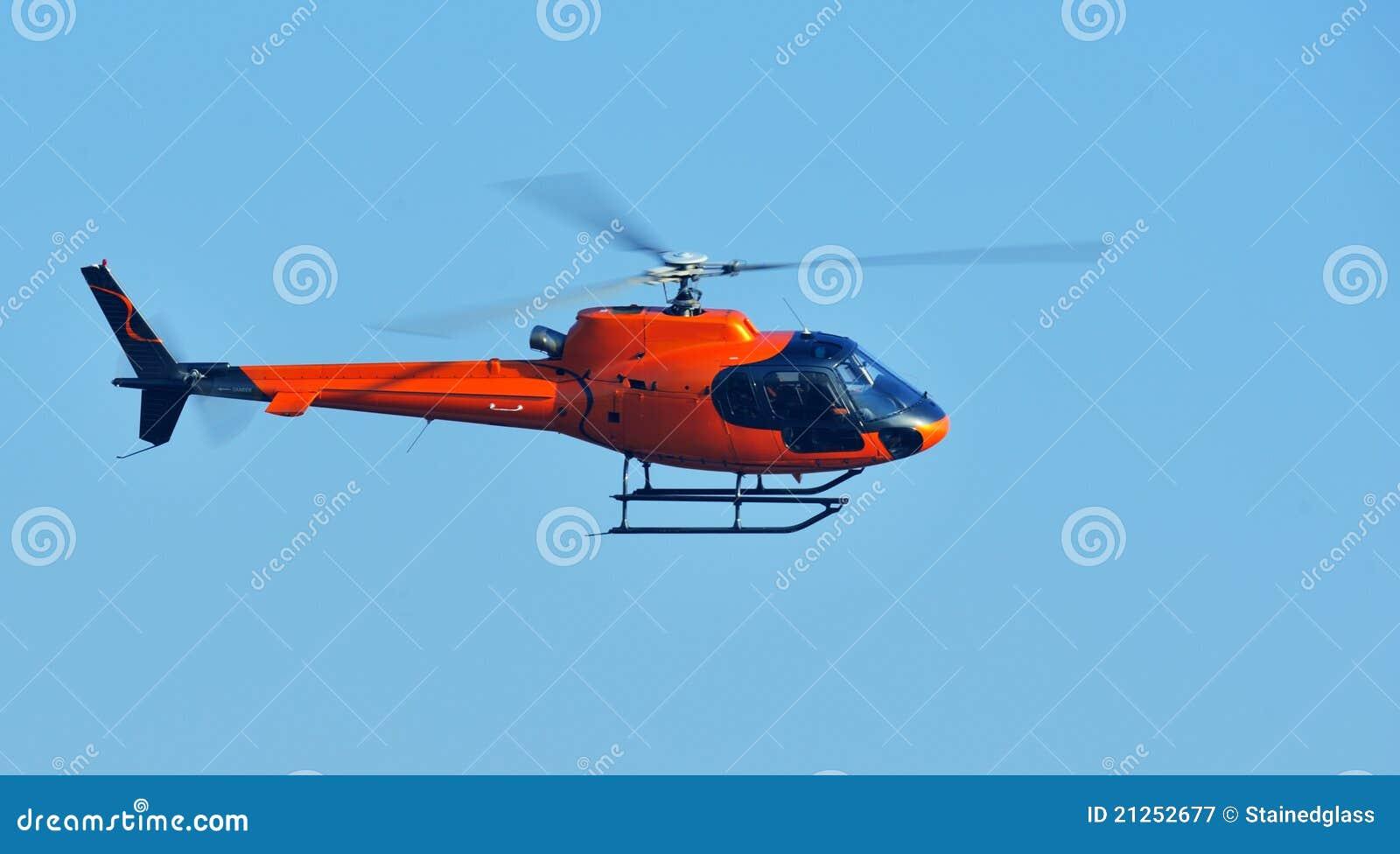 Elicottero arancione