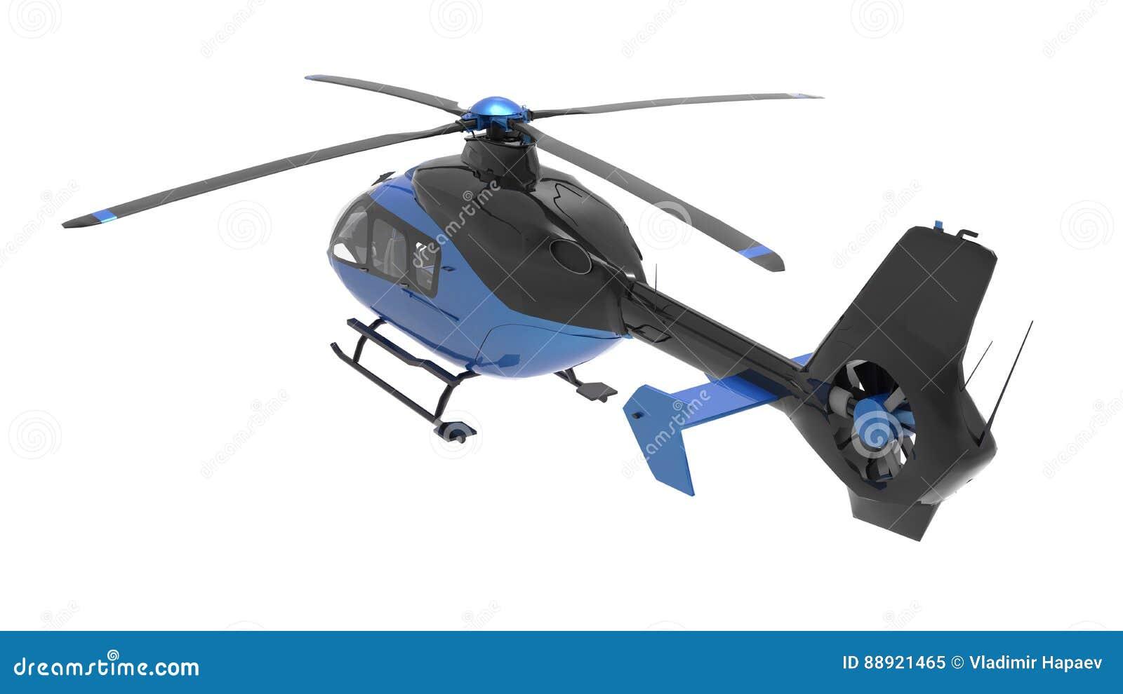 Elicottero 3d Model : Rendering d cg di un elicottero u foto stock tsuneomp