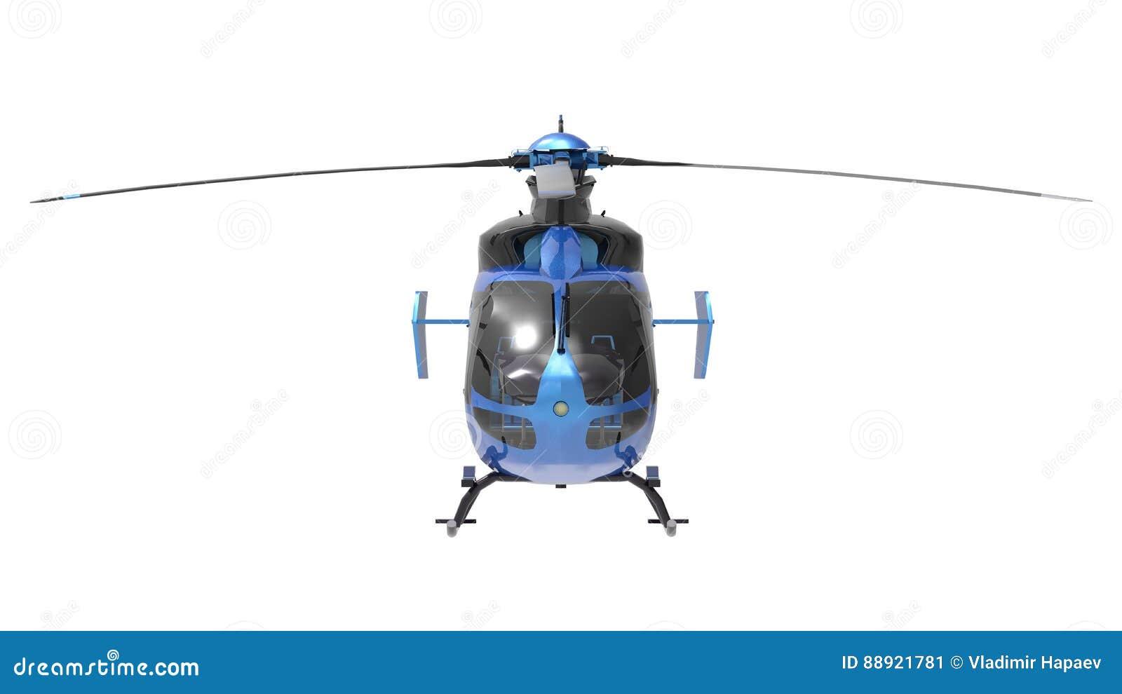 Elicottero 3d Model : Elicottero giallo isolato su sfondo bianco illustrazione d