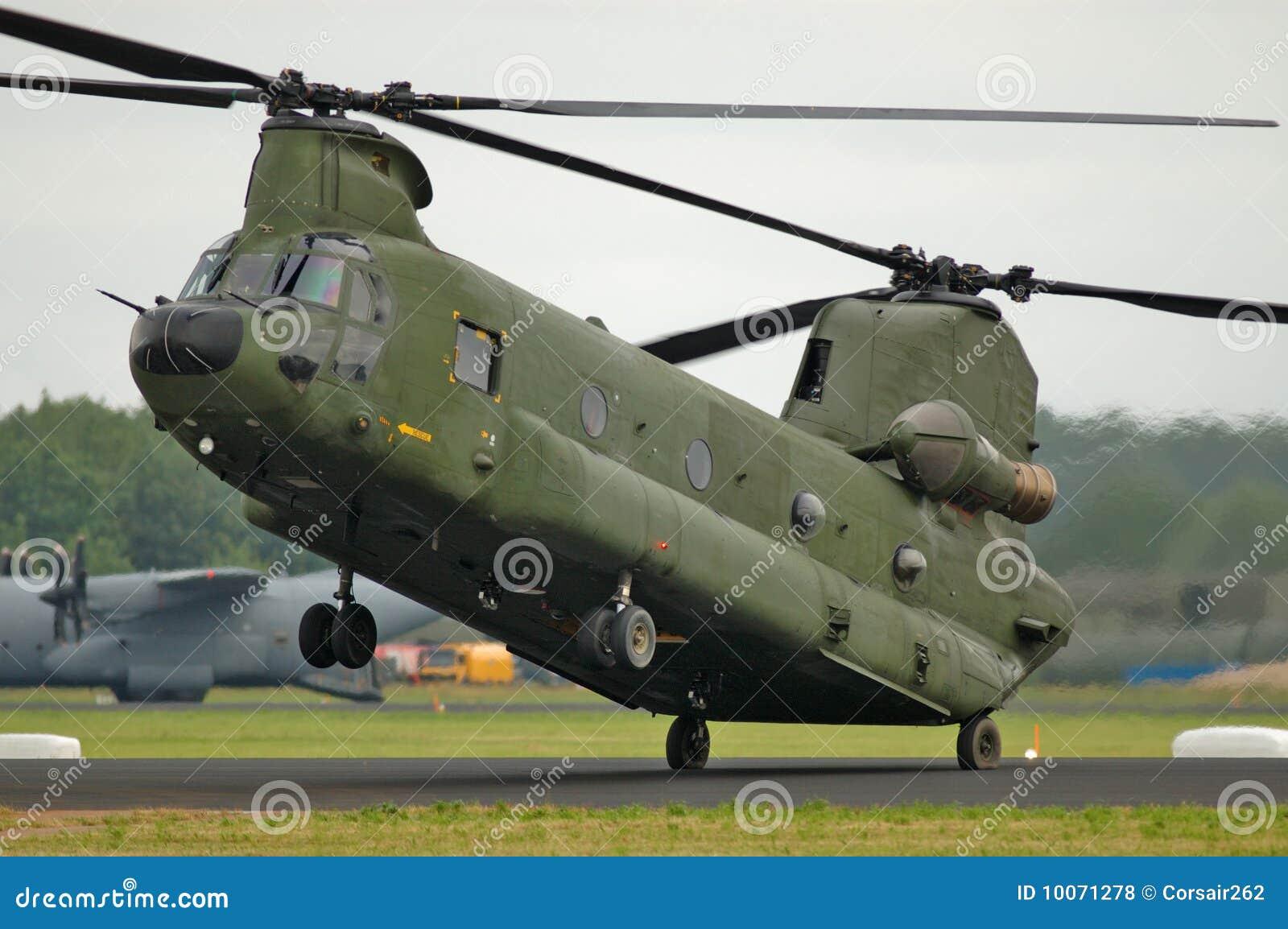 Elicottero Ch : Elicottero del chinook ch fotografia stock immagine di
