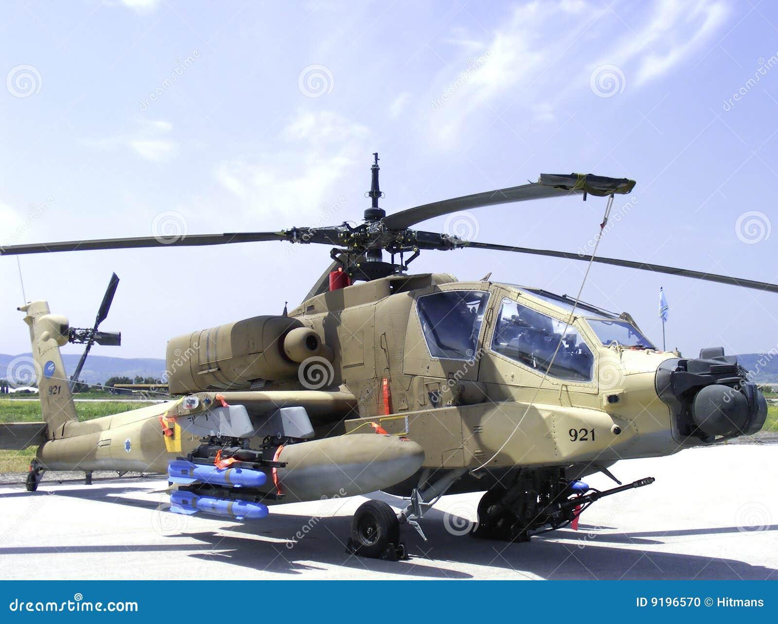 Elicottero Militare : Elicottero dell militare del apache fotografia