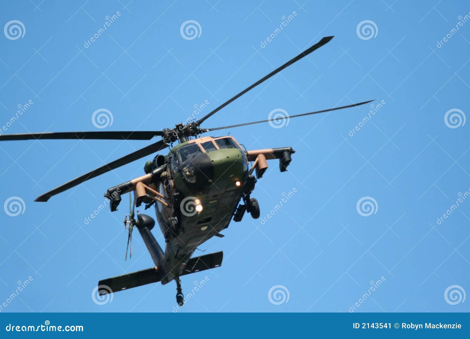 Elicottero di Blackhawk
