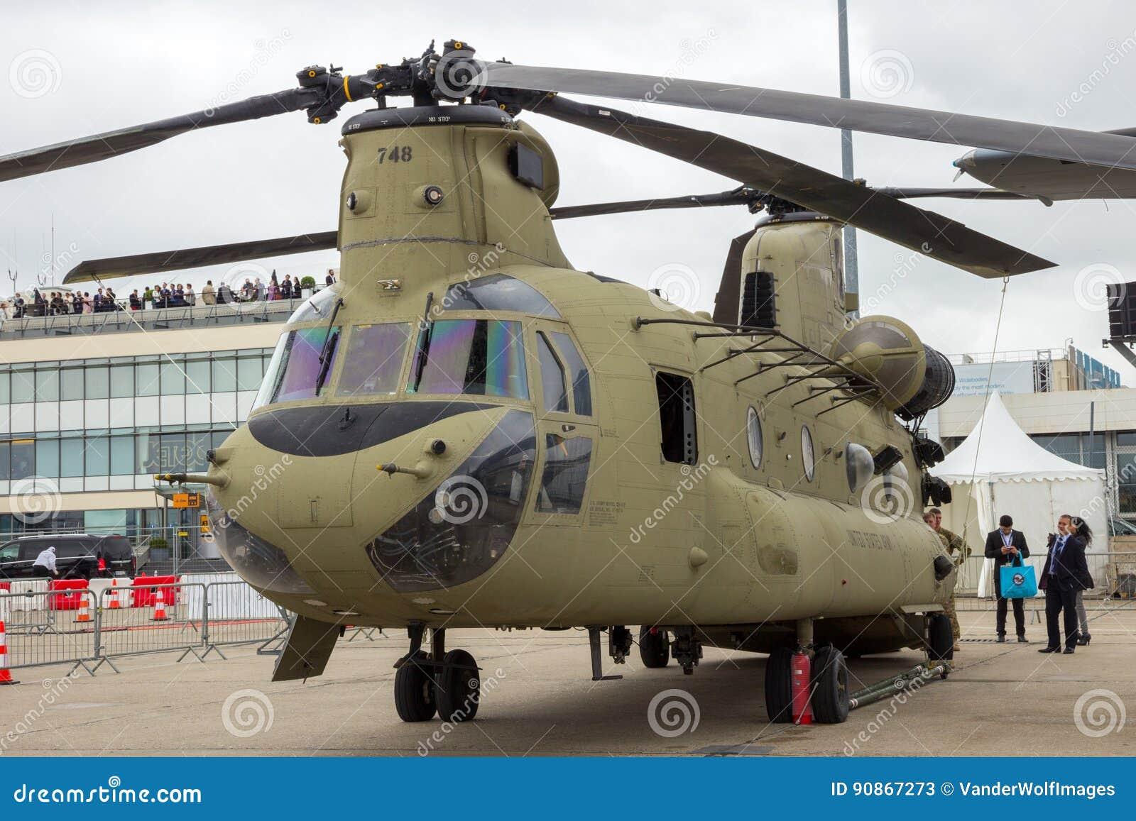 Elicottero Ch : Elicottero di boeing ch chinook dell esercito americano
