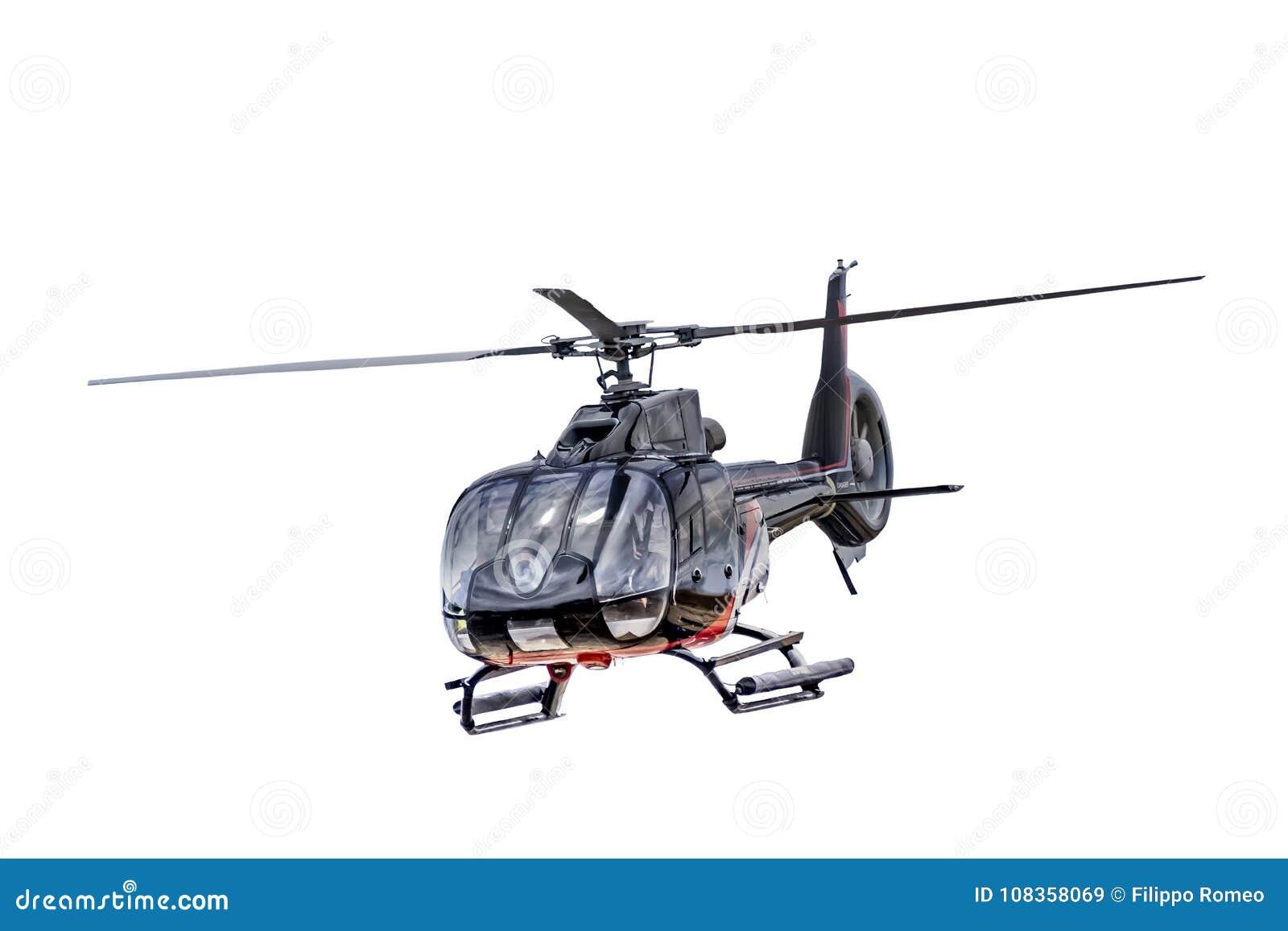 Elicottero Quarto : Elicottero di vista frontale isolato immagine stock immagine di