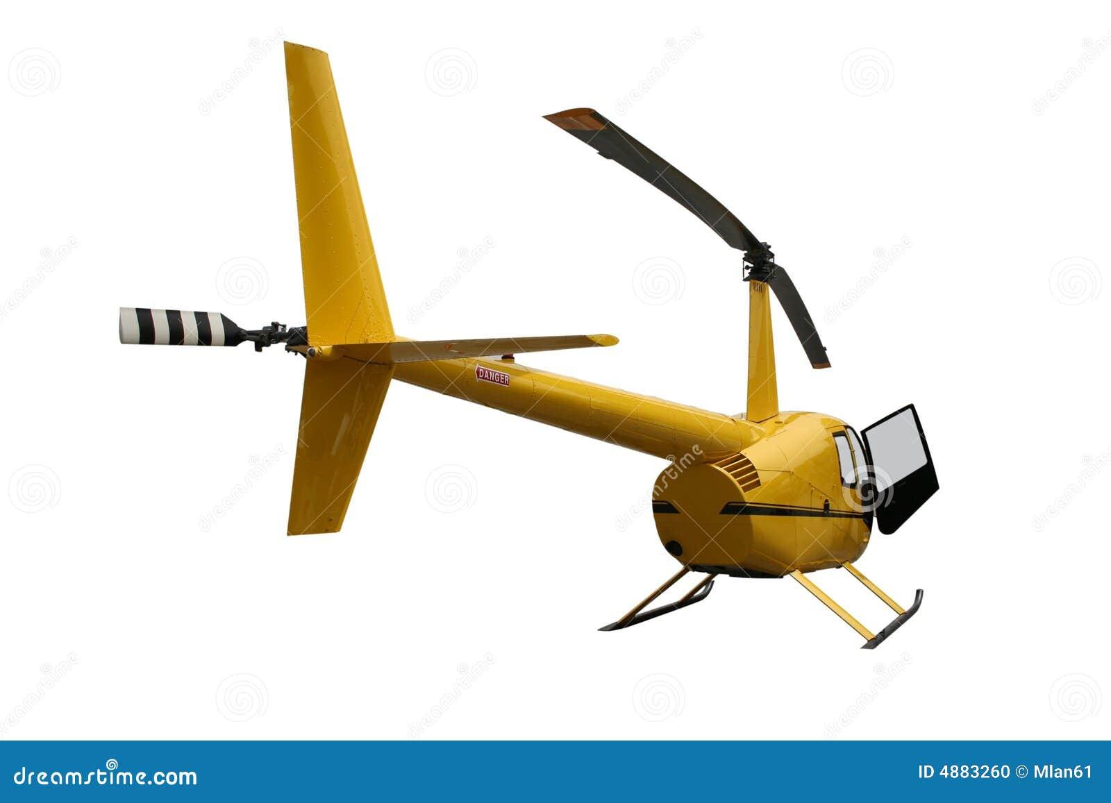 Elicottero Giallo : Elicottero giallo fotografia stock immagine di grafico