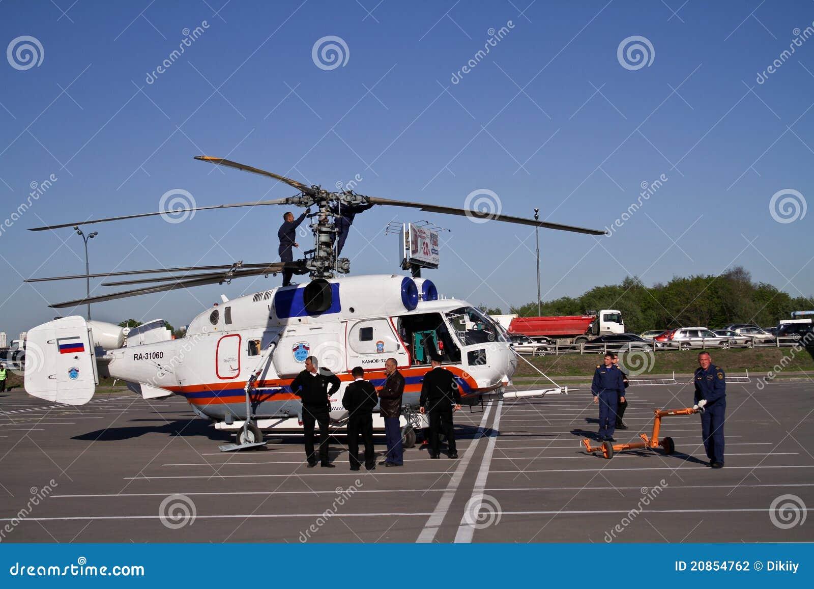 Elicottero Ka 32 : Elicottero ka a fotografia editoriale immagine di volo