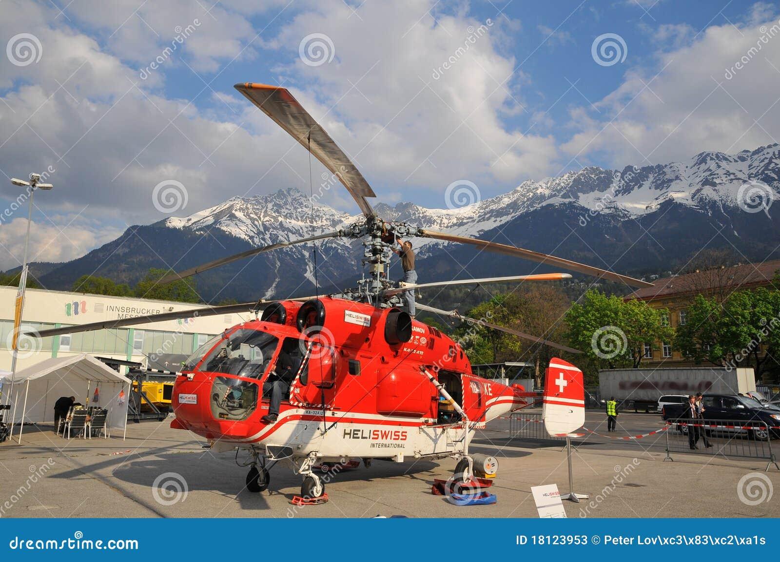Elicottero Kamov : Elicottero ka di kamov a hb xke fotografia stock