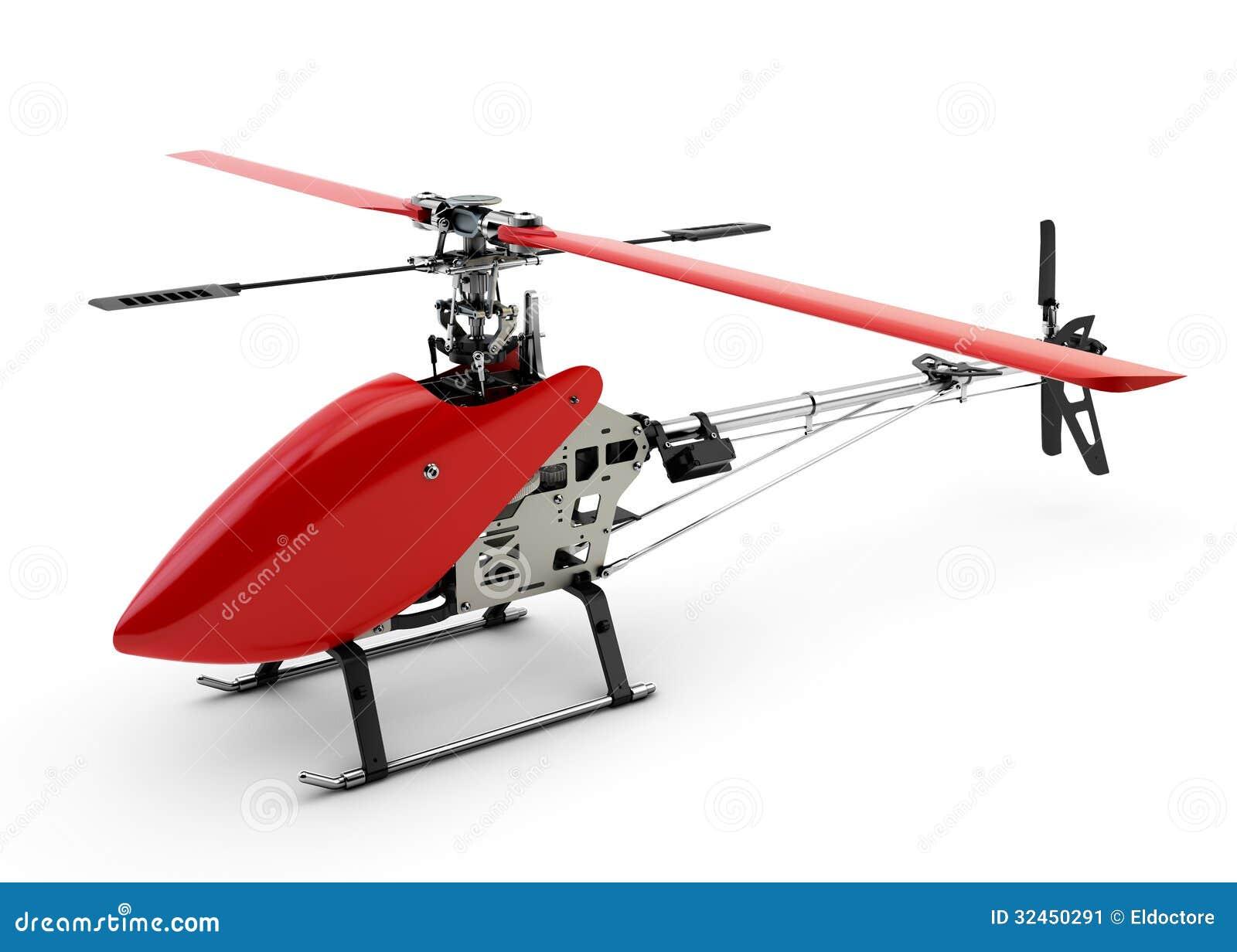 Elicottero 7 Posti : Elicottero telecomandato rosso generico immagine stock