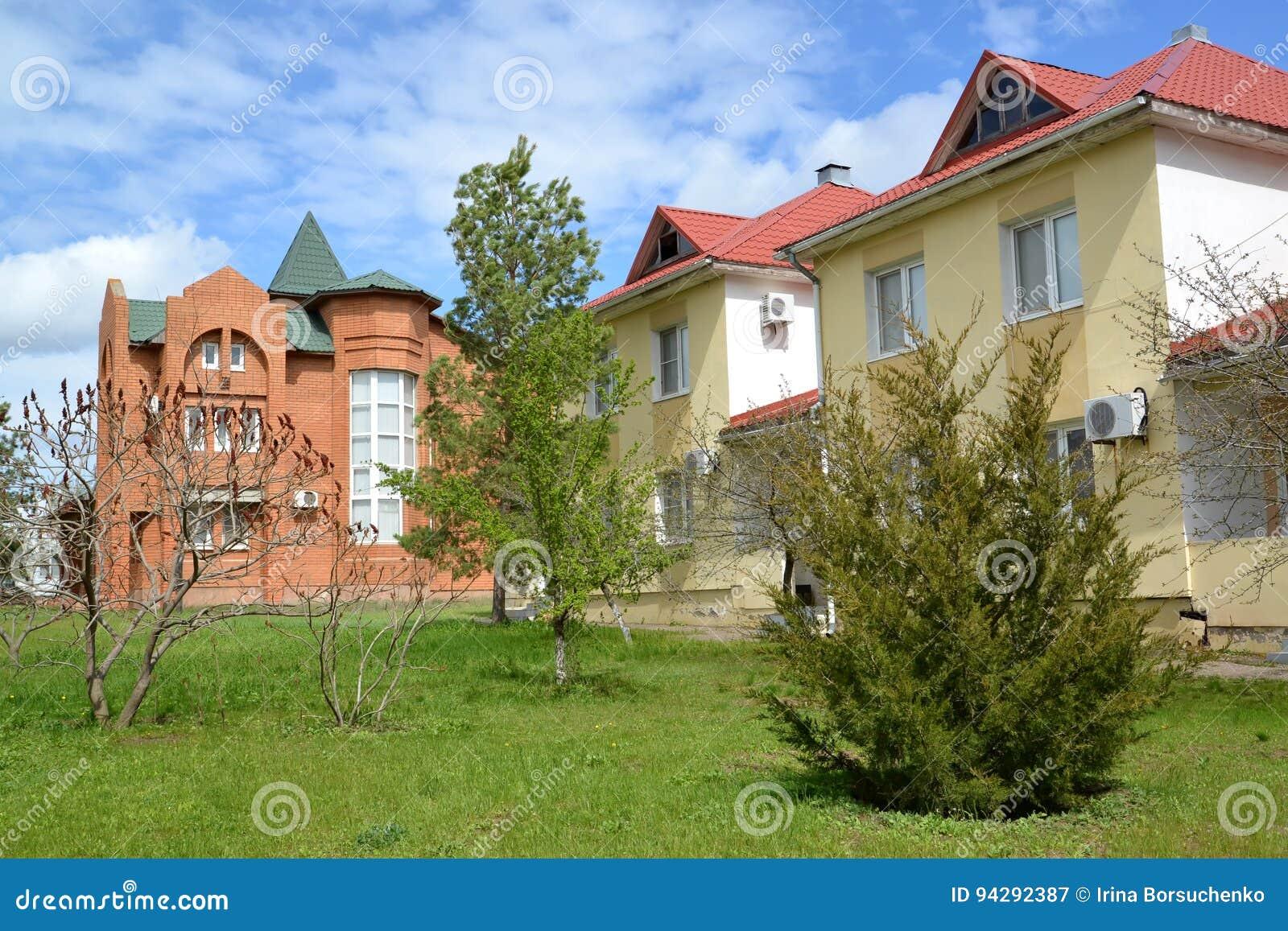 Elita budynek w ` miasto szachowy ` miasta szachy Elista, Kalmykia