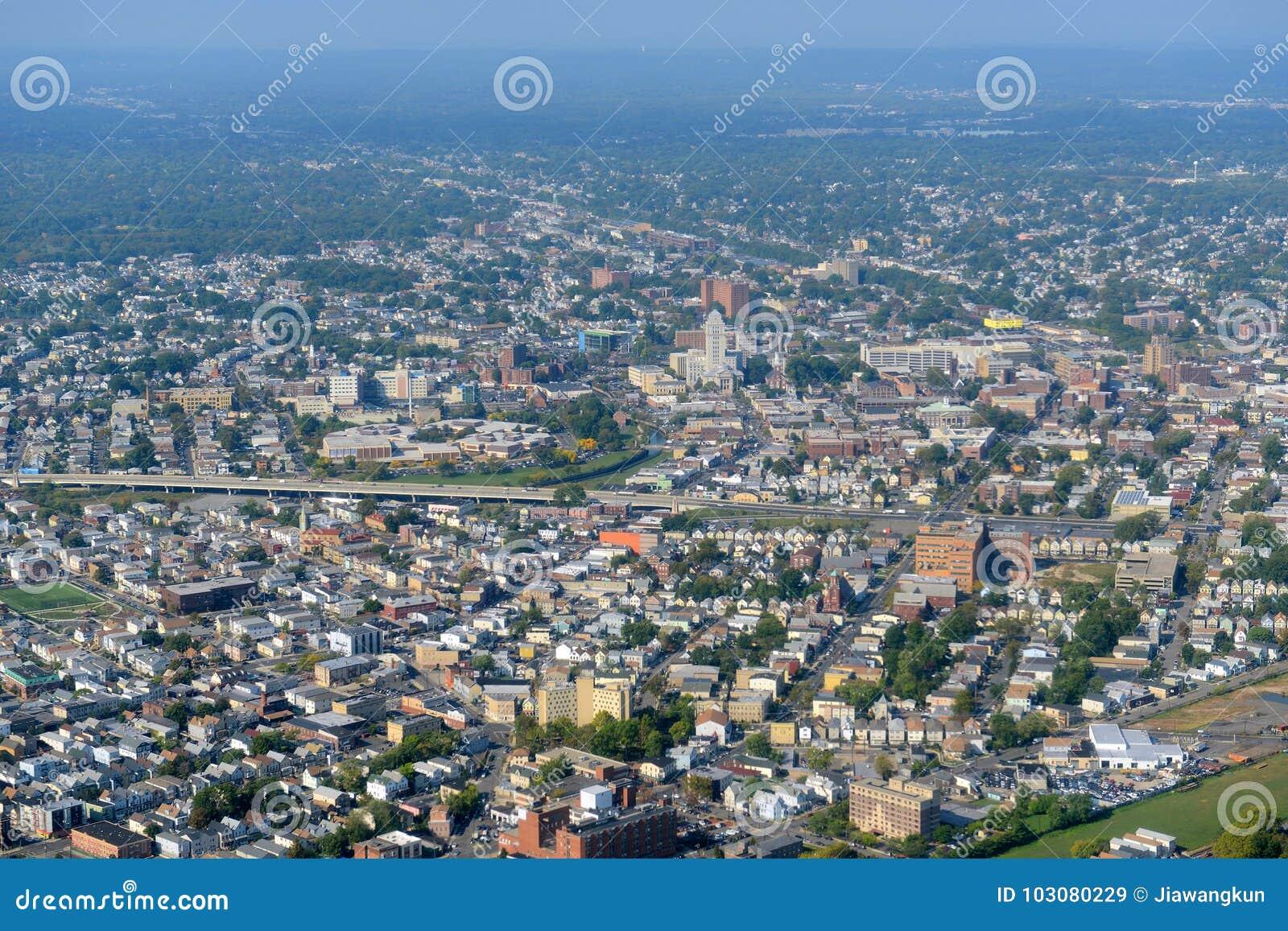 Elizabeth Aerial-mening, New Jersey, de V.S.