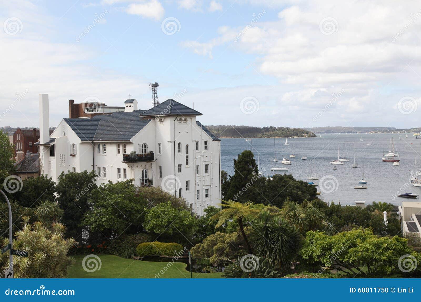 Elizabeth Bay - Mening van Elizabeth Bay House