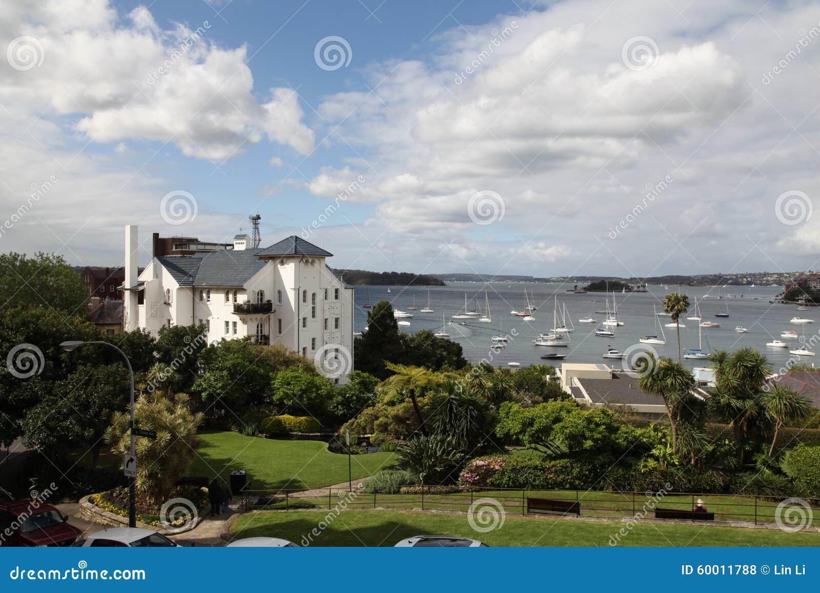 Elizabeth Bay - visión desde Elizabeth Bay House