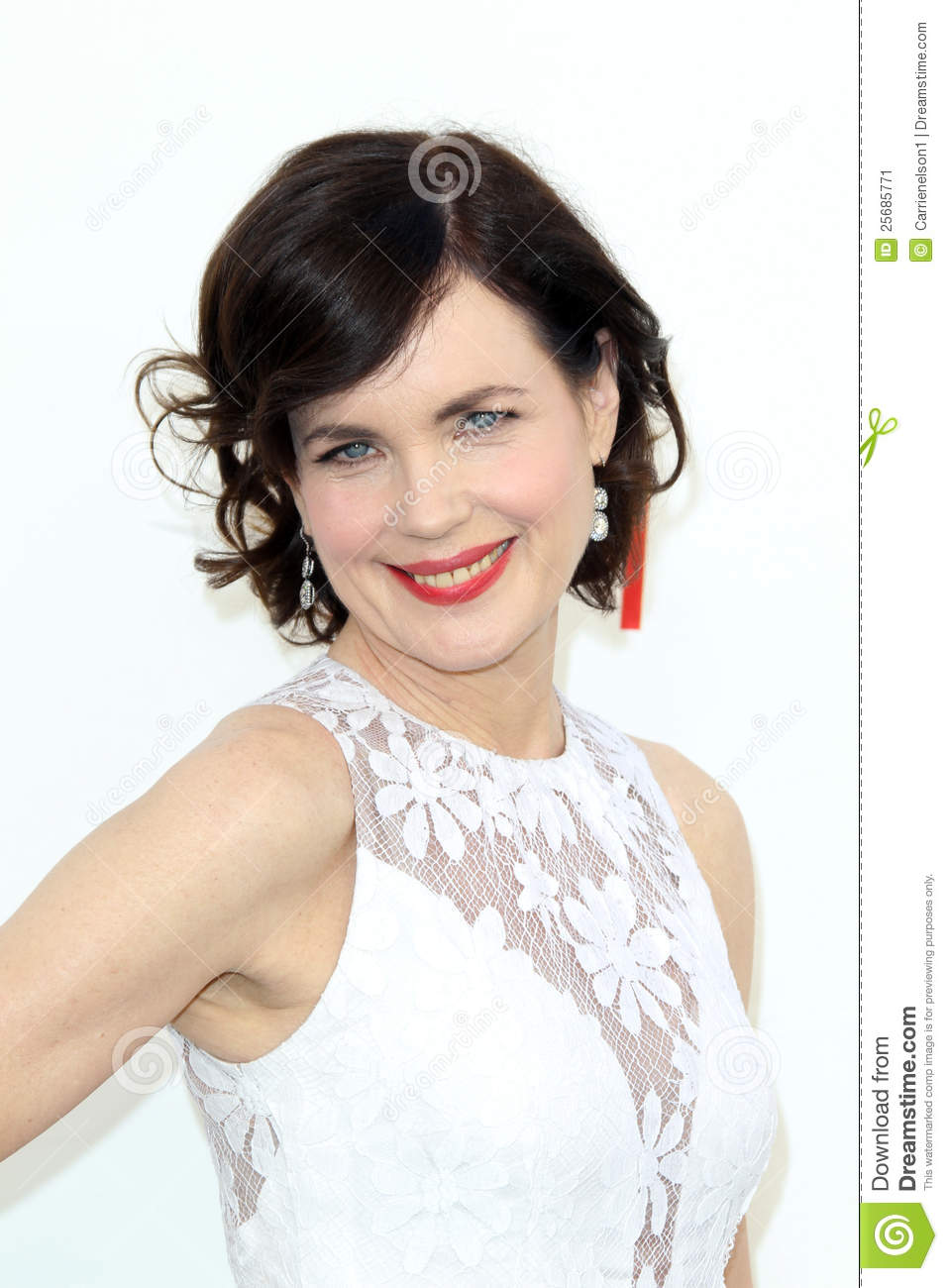 Elizabeth McGovern Arriving At The AFI Life Achievement Award Honoring ...
